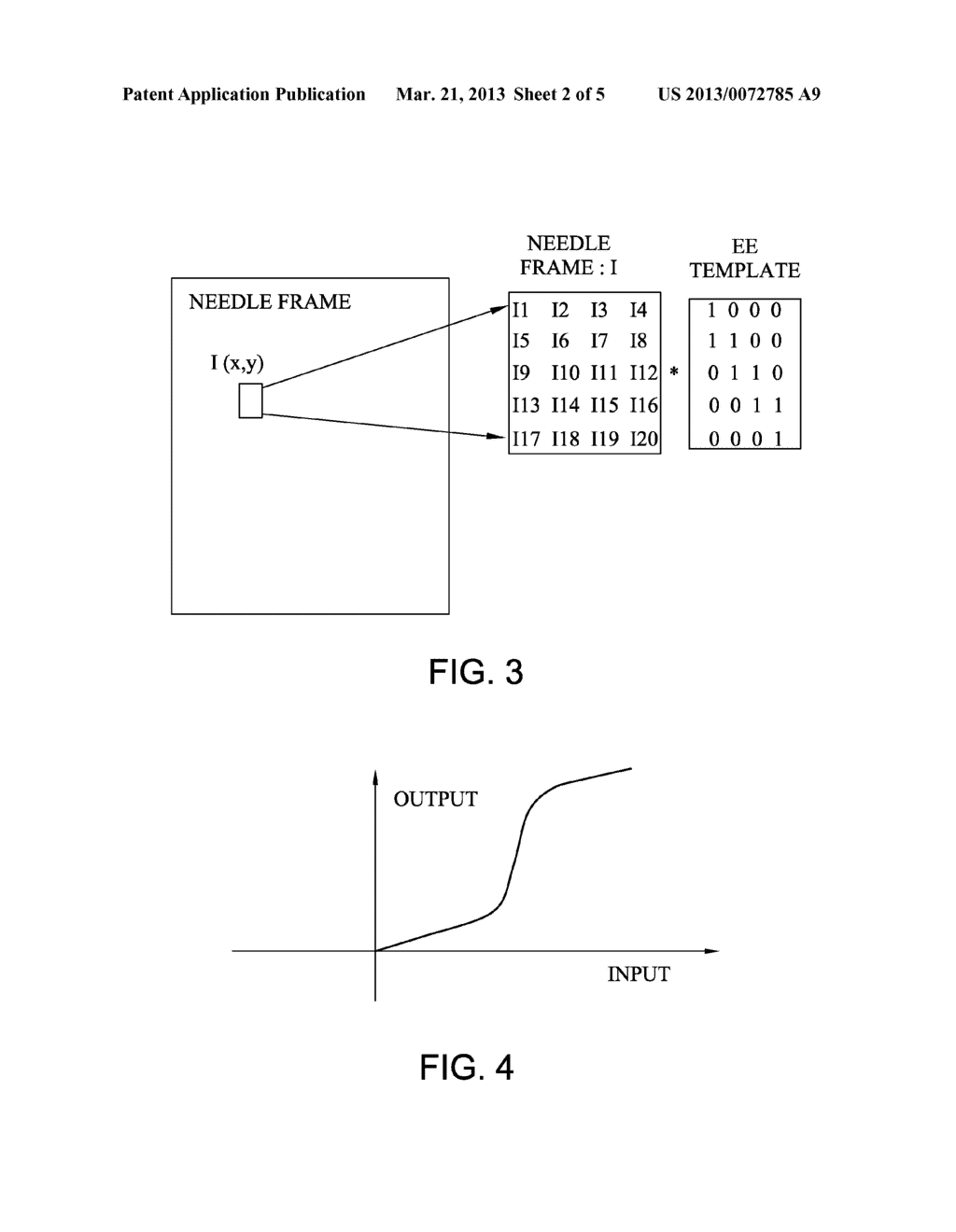METHOD AND APPARATUS FOR ENHANCING NEEDLE VISUALIZATION IN ULTRASOUND     IMAGING - diagram, schematic, and image 03