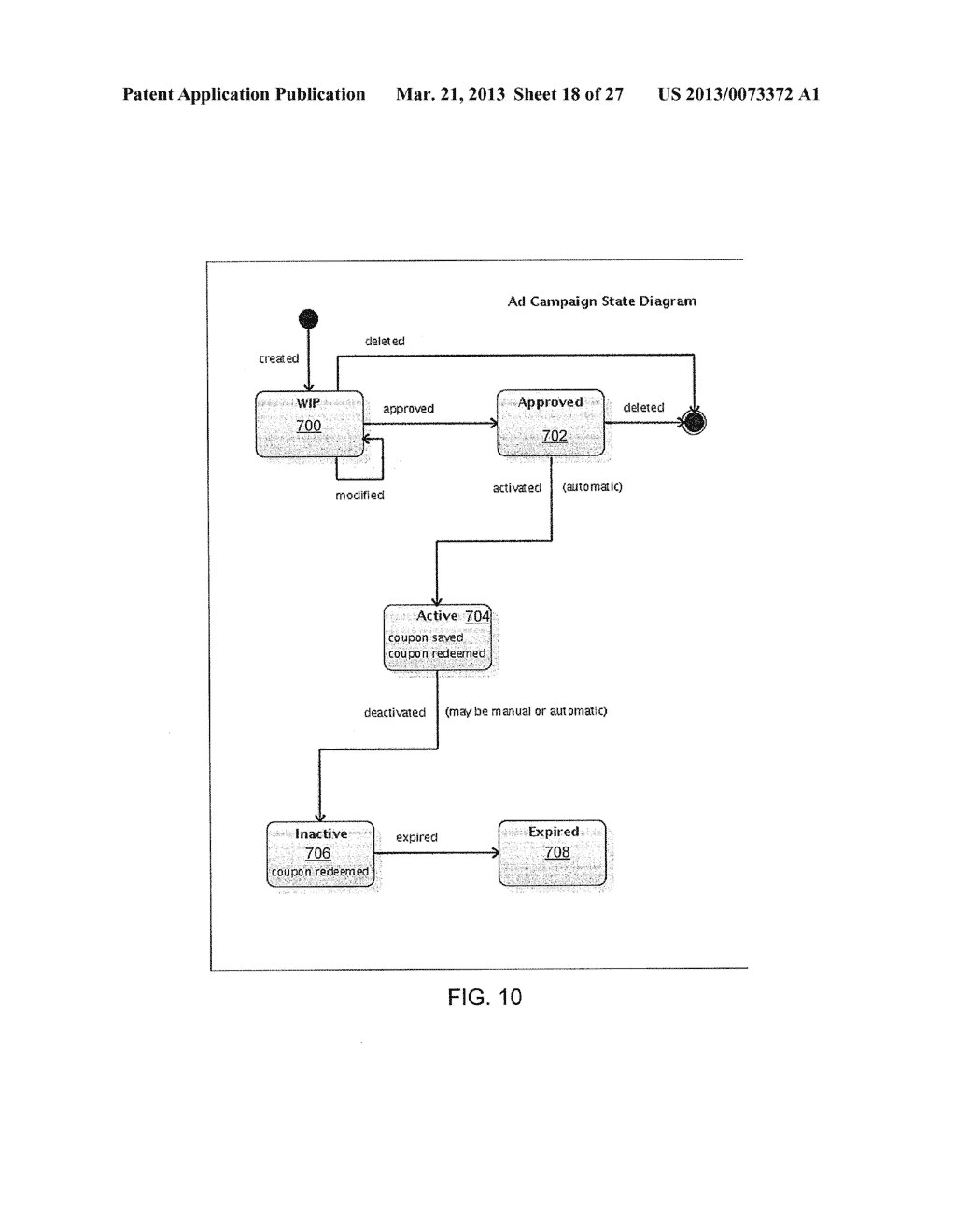 INTEGRATED SYSTEM AND METHOD FOR MANAGING ELECTRONIC COUPONS - diagram, schematic, and image 19