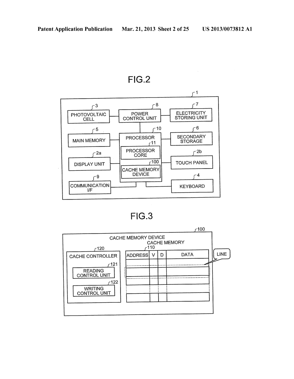CACHE MEMORY DEVICE, PROCESSOR, AND INFORMATION PROCESSING APPARATUS - diagram, schematic, and image 03