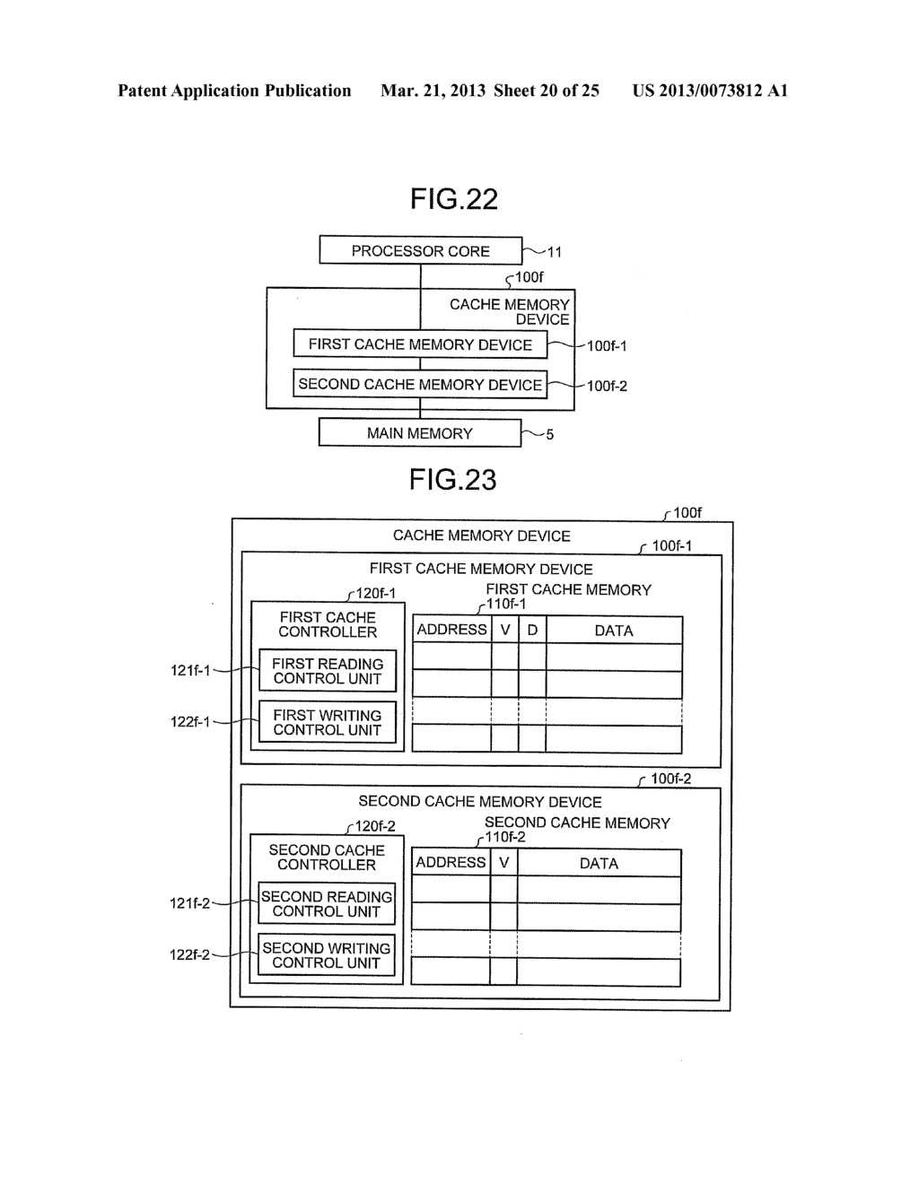 CACHE MEMORY DEVICE, PROCESSOR, AND INFORMATION PROCESSING APPARATUS - diagram, schematic, and image 21