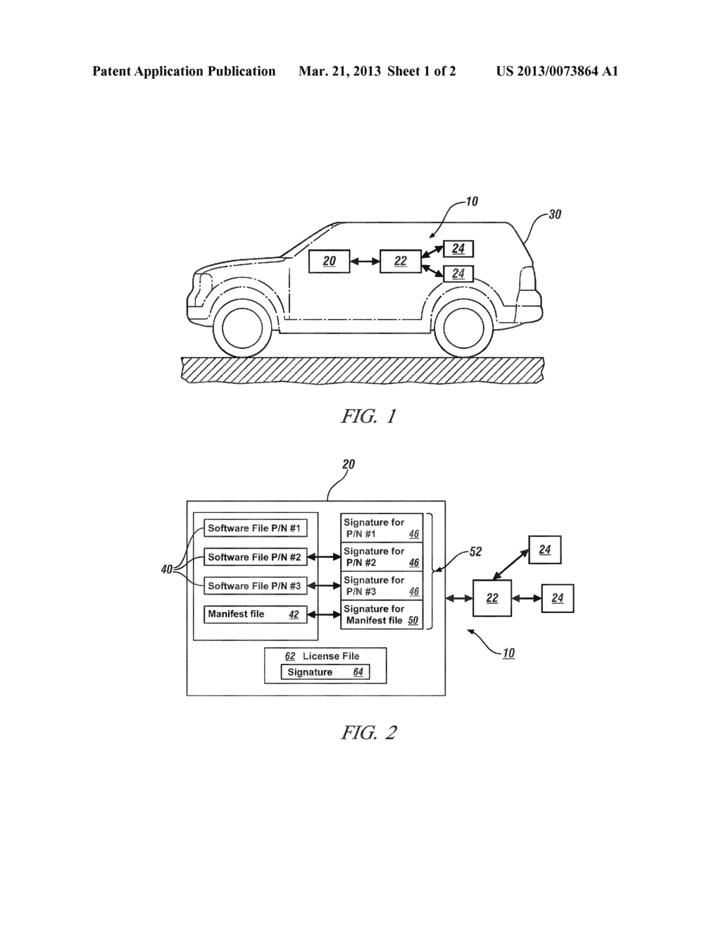SYSTEM AND METHOD OF AUTHENTICATING MULTIPLE FILES USING A DETACHED     DIGITAL SIGNATURE - diagram, schematic, and image 02