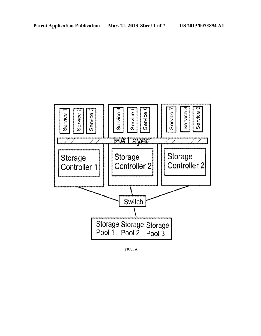 TECHNIQUES FOR ACHIEVING HIGH AVAILABILITY WITH MULTI-TENANT STORAGE WHEN     A PARTIAL FAULT OCCURS OR WHEN MORE THAN TWO COMPLETE FAULTS OCCUR - diagram, schematic, and image 02