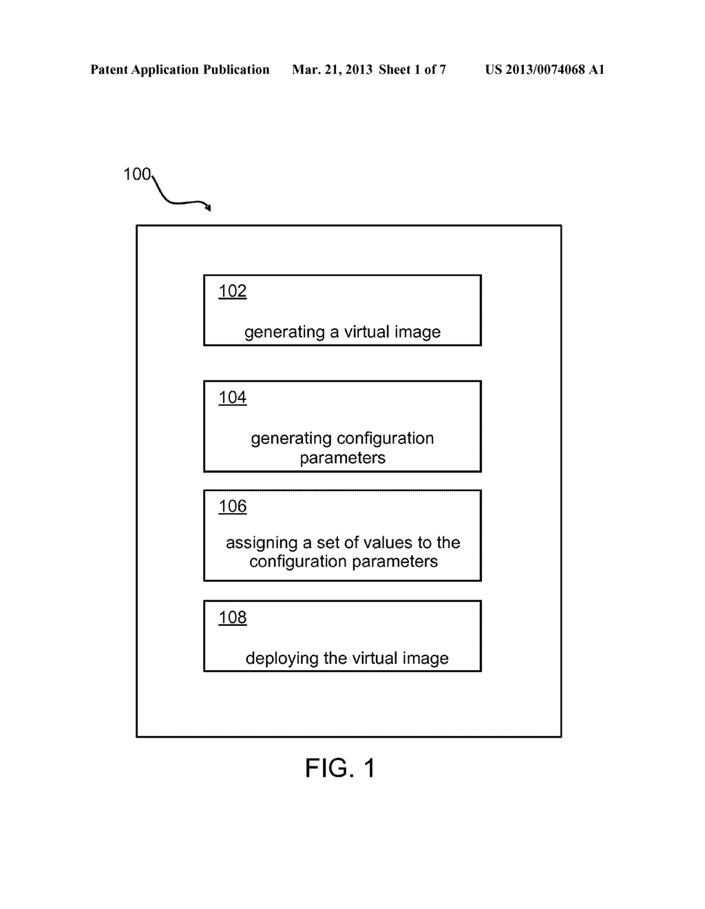 Method, System, and Computer Program for Implementing a Customizable     Virtual Appliance - diagram, schematic, and image 02