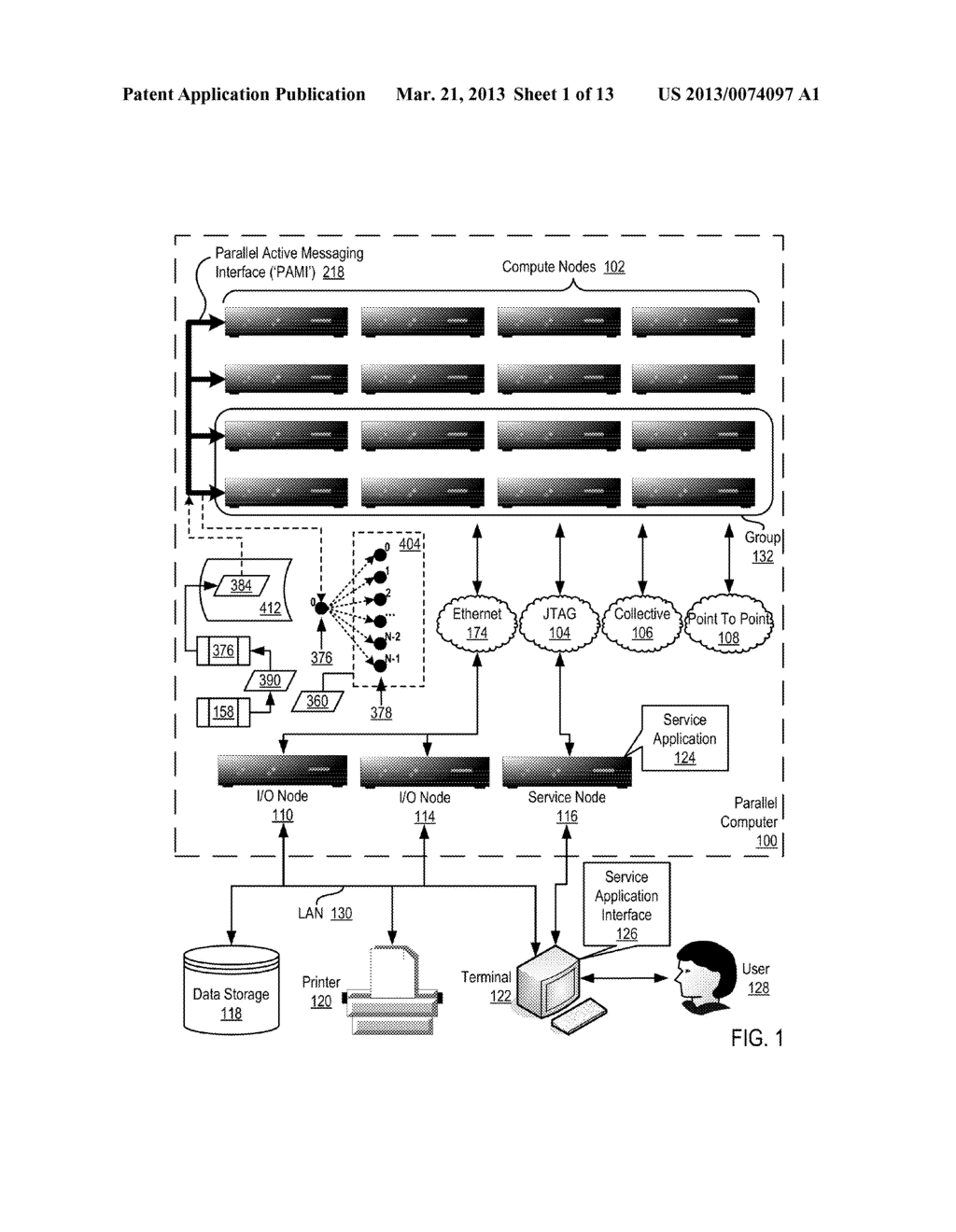ENDPOINT-BASED PARALLEL DATA PROCESSING WITH NON-BLOCKING COLLECTIVE     INSTRUCTIONS IN A PARALLEL ACTIVE MESSAGING INTERFACE OF A PARALLEL     COMPUTER - diagram, schematic, and image 02