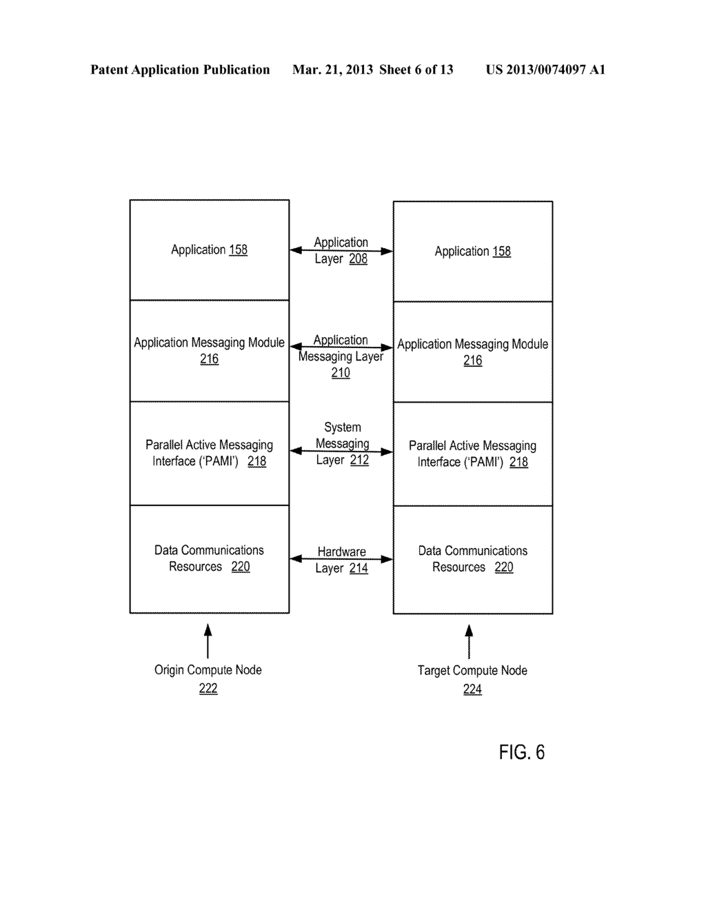 ENDPOINT-BASED PARALLEL DATA PROCESSING WITH NON-BLOCKING COLLECTIVE     INSTRUCTIONS IN A PARALLEL ACTIVE MESSAGING INTERFACE OF A PARALLEL     COMPUTER - diagram, schematic, and image 07