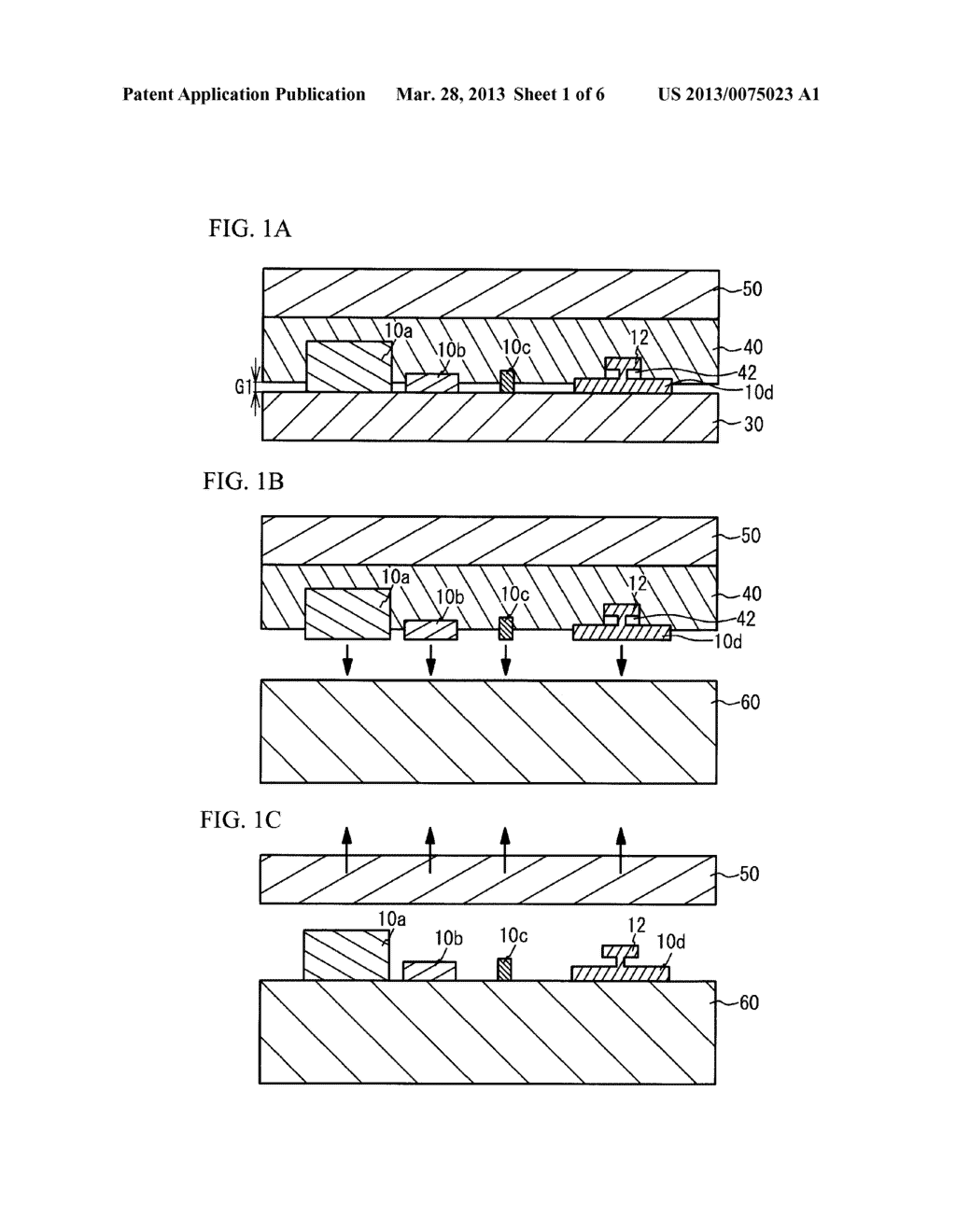 METHOD FOR BONDING THIN FILM PIECE - diagram, schematic, and image 02