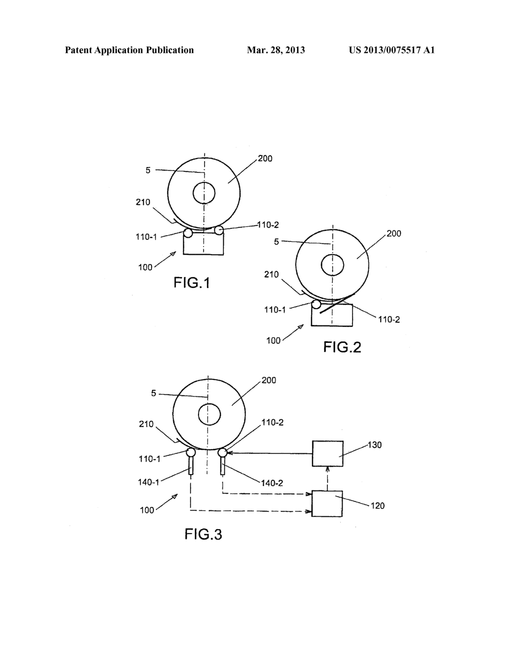 METHOD AND DEVICE FOR DEPOSITING A METAL COIL - diagram, schematic, and image 02