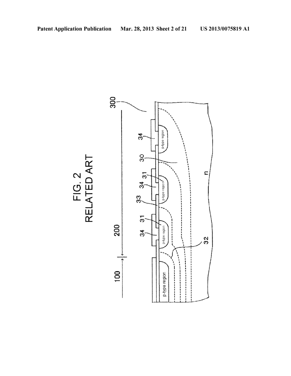 SEMICONDUCTOR DEVICE AND METHOD OF MANUFACTURING SAME - diagram, schematic, and image 03
