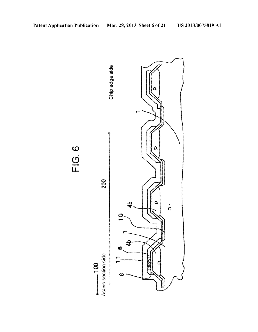 SEMICONDUCTOR DEVICE AND METHOD OF MANUFACTURING SAME - diagram, schematic, and image 07