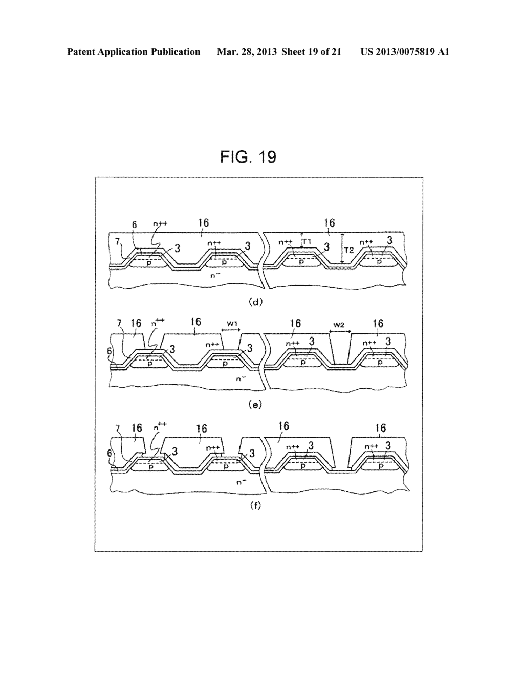 SEMICONDUCTOR DEVICE AND METHOD OF MANUFACTURING SAME - diagram, schematic, and image 20