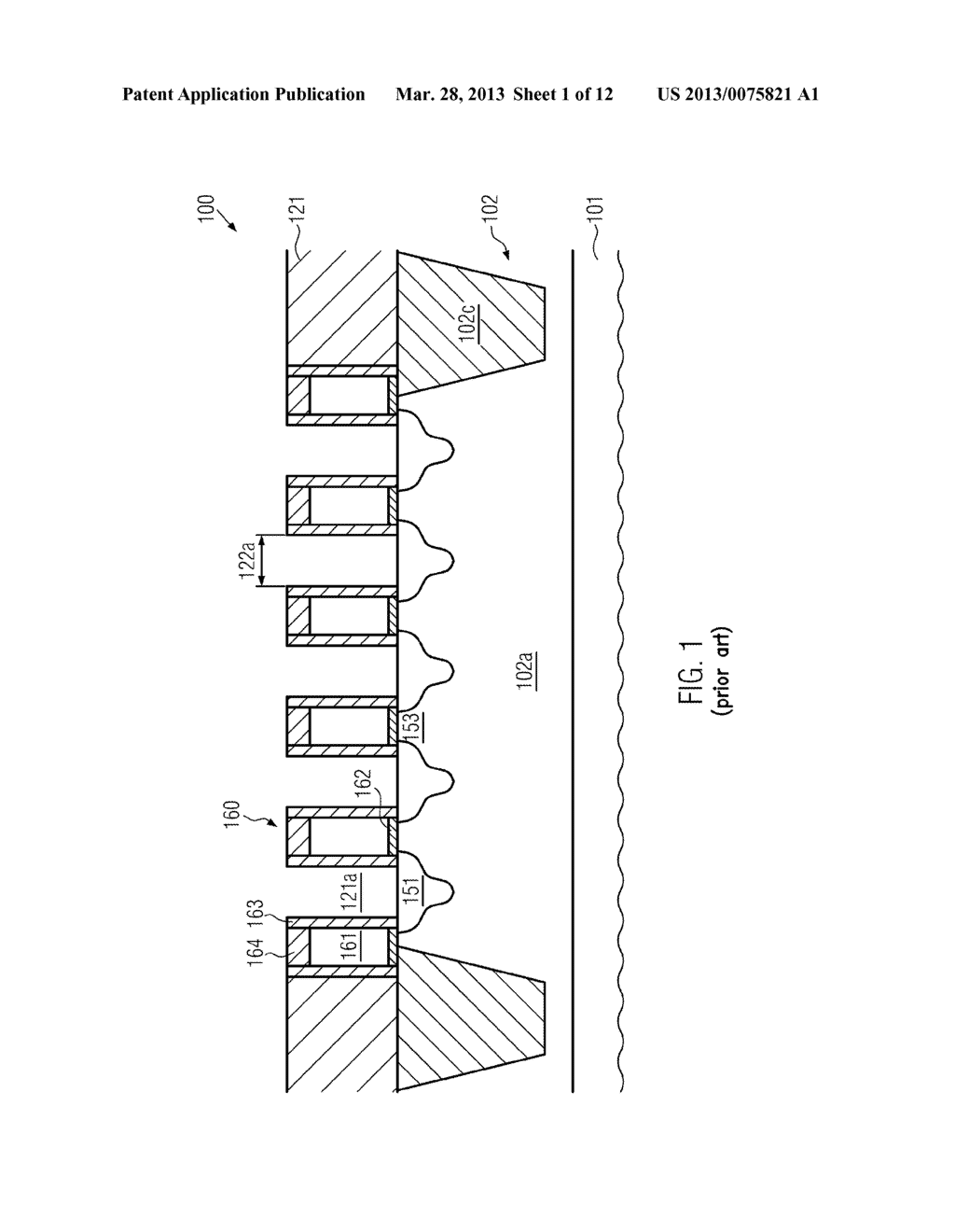 Semiconductor Device Comprising Replacement Gate Electrode Structures and     Self-Aligned Contact Elements Formed by a Late Contact Fill - diagram, schematic, and image 02