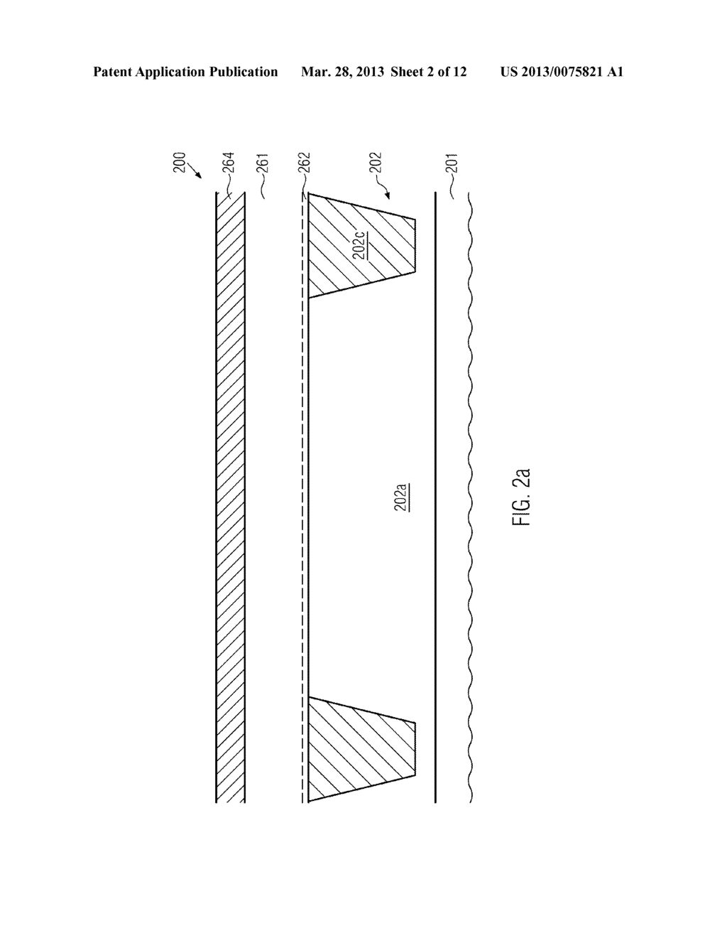 Semiconductor Device Comprising Replacement Gate Electrode Structures and     Self-Aligned Contact Elements Formed by a Late Contact Fill - diagram, schematic, and image 03