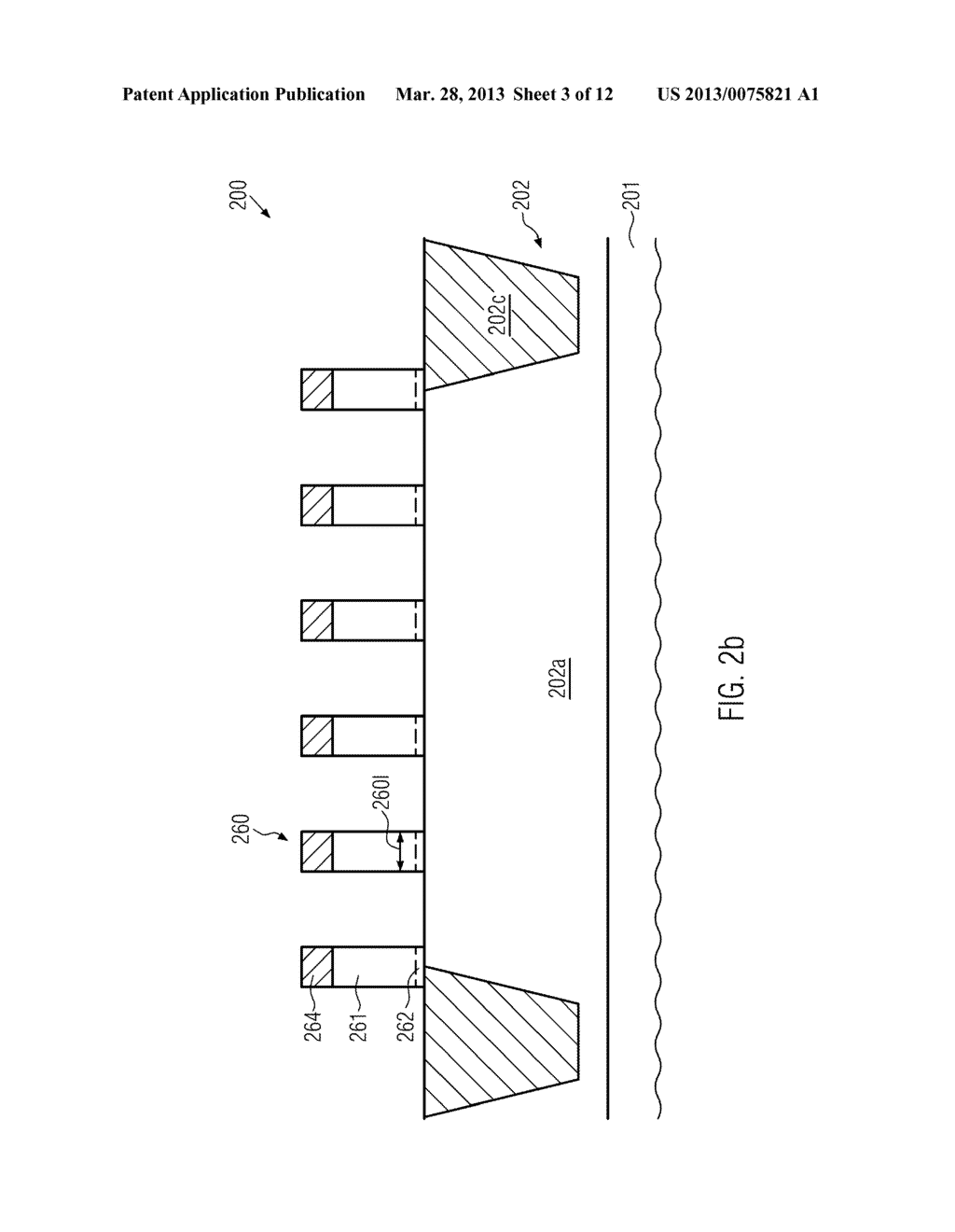 Semiconductor Device Comprising Replacement Gate Electrode Structures and     Self-Aligned Contact Elements Formed by a Late Contact Fill - diagram, schematic, and image 04