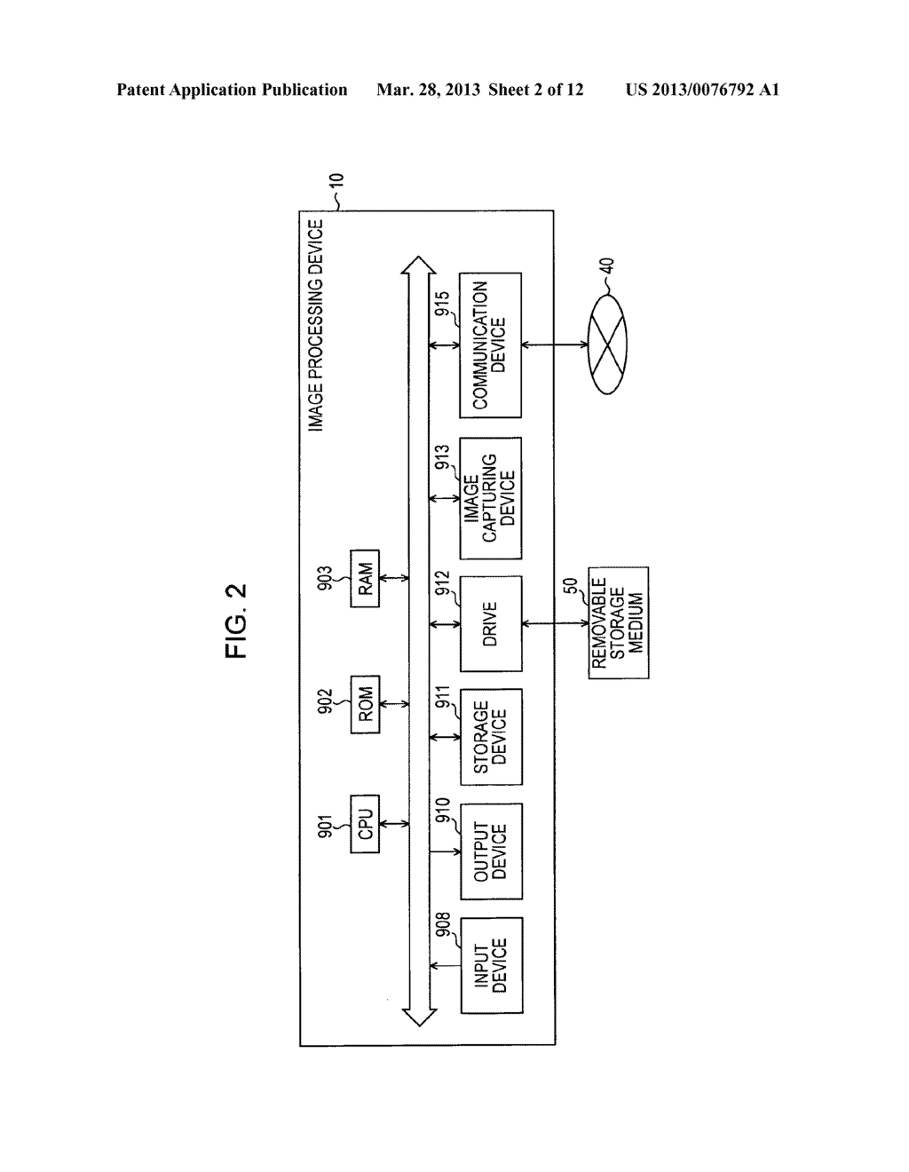 IMAGE PROCESSING DEVICE, IMAGE PROCESSING METHOD, AND COMPUTER READABLE     MEDIUM - diagram, schematic, and image 03