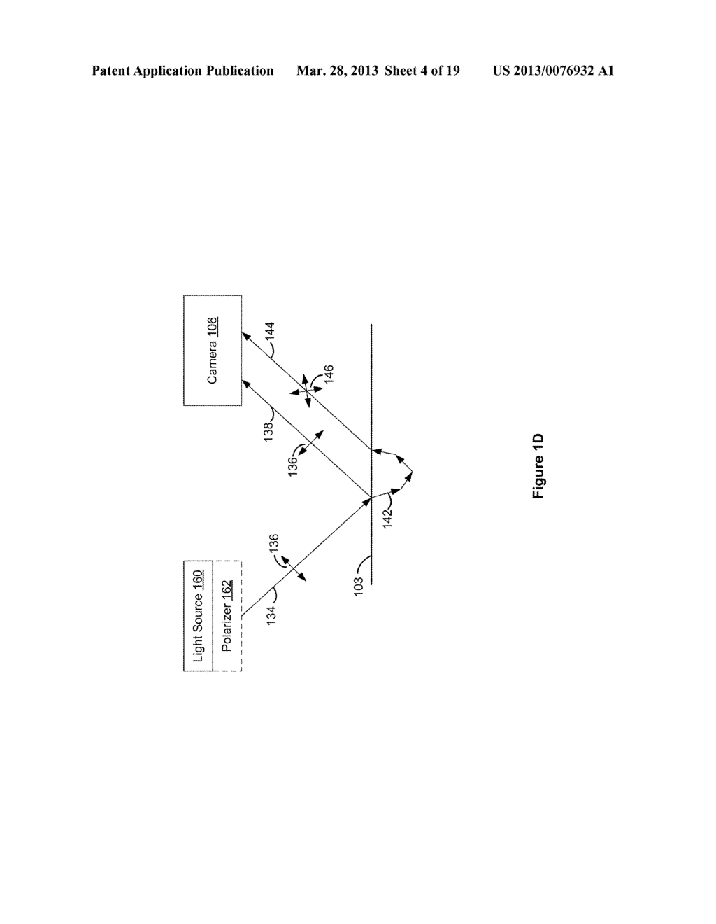 SYSTEMS AND METHODS FOR DETERMINING A SURFACE PROFILE USING A PLURALITY OF     LIGHT SOURCES - diagram, schematic, and image 05