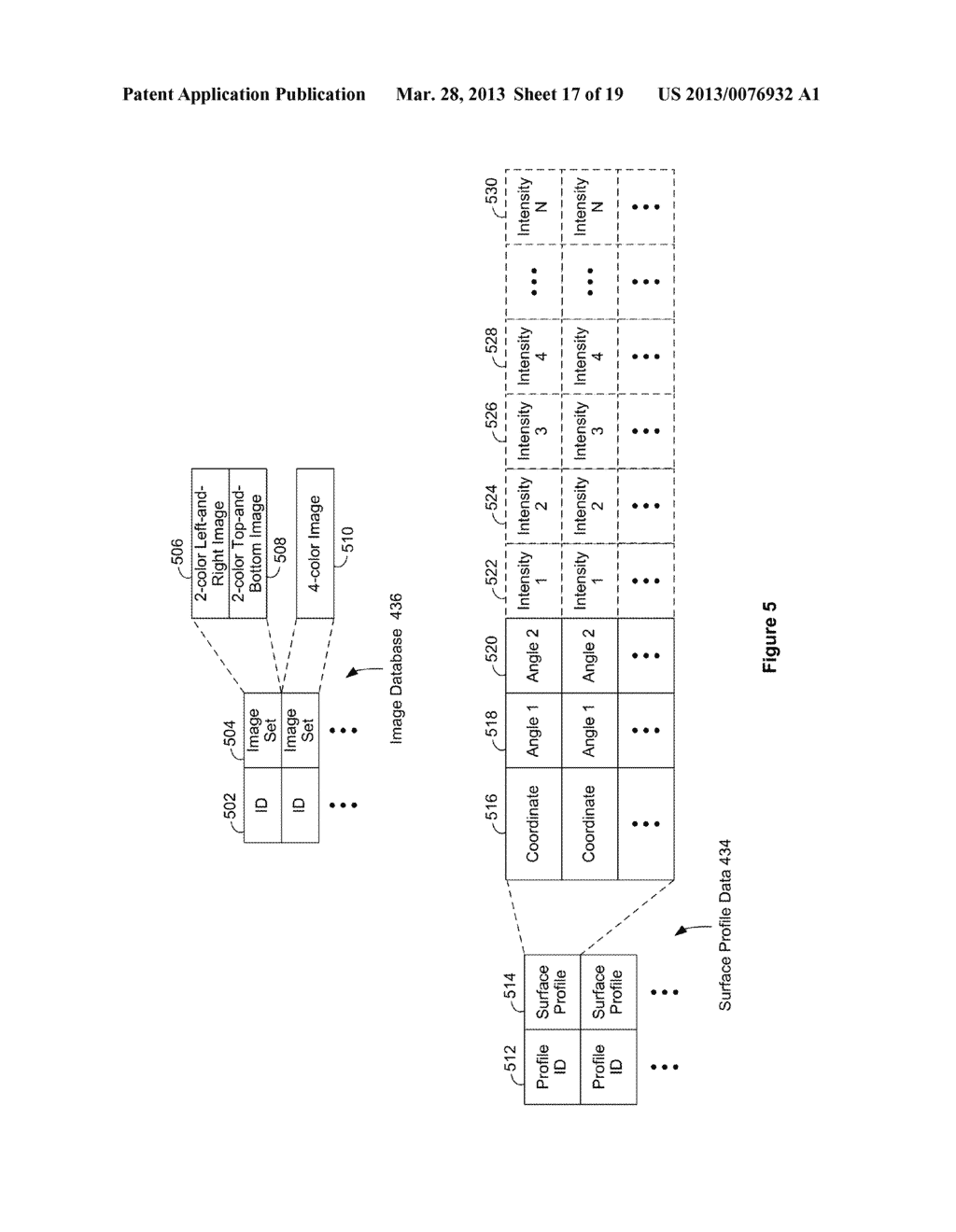 SYSTEMS AND METHODS FOR DETERMINING A SURFACE PROFILE USING A PLURALITY OF     LIGHT SOURCES - diagram, schematic, and image 18