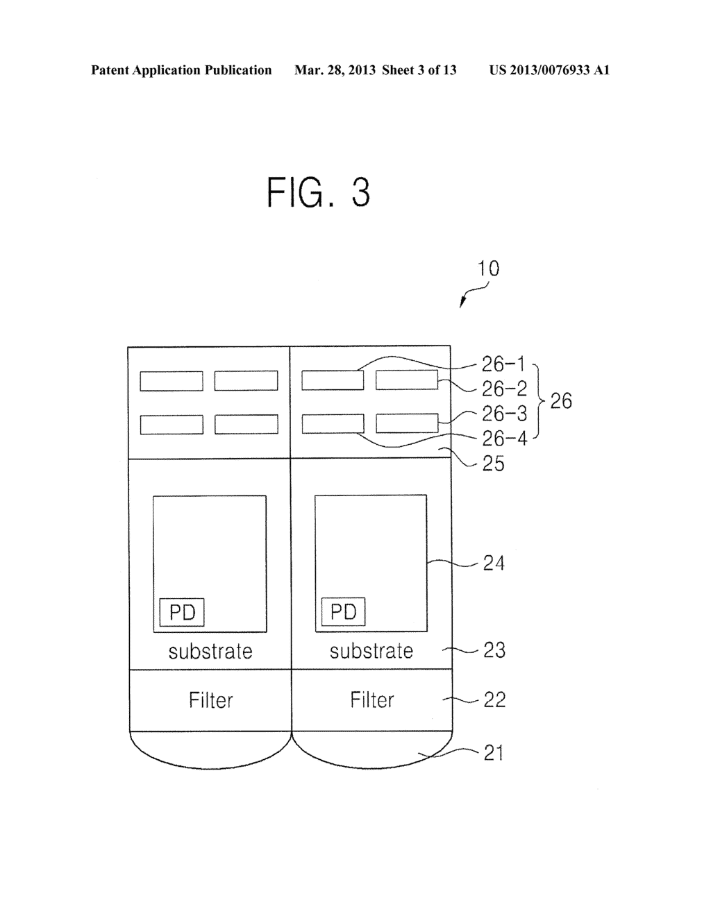 BACKSIDE ILLUMINATION IMAGE SENSOR, OPERATING METHOD THEREOF, IMAGE     PROCESSING SYSTEM AND METHOD OF PROCESSING IMAGE USING THE SAME - diagram, schematic, and image 04