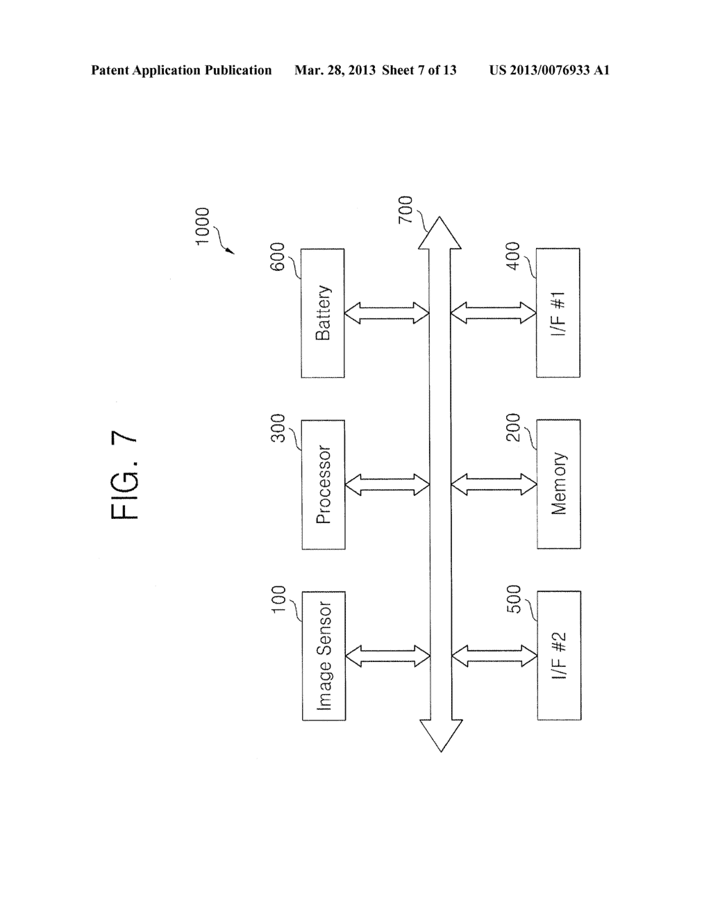 BACKSIDE ILLUMINATION IMAGE SENSOR, OPERATING METHOD THEREOF, IMAGE     PROCESSING SYSTEM AND METHOD OF PROCESSING IMAGE USING THE SAME - diagram, schematic, and image 08