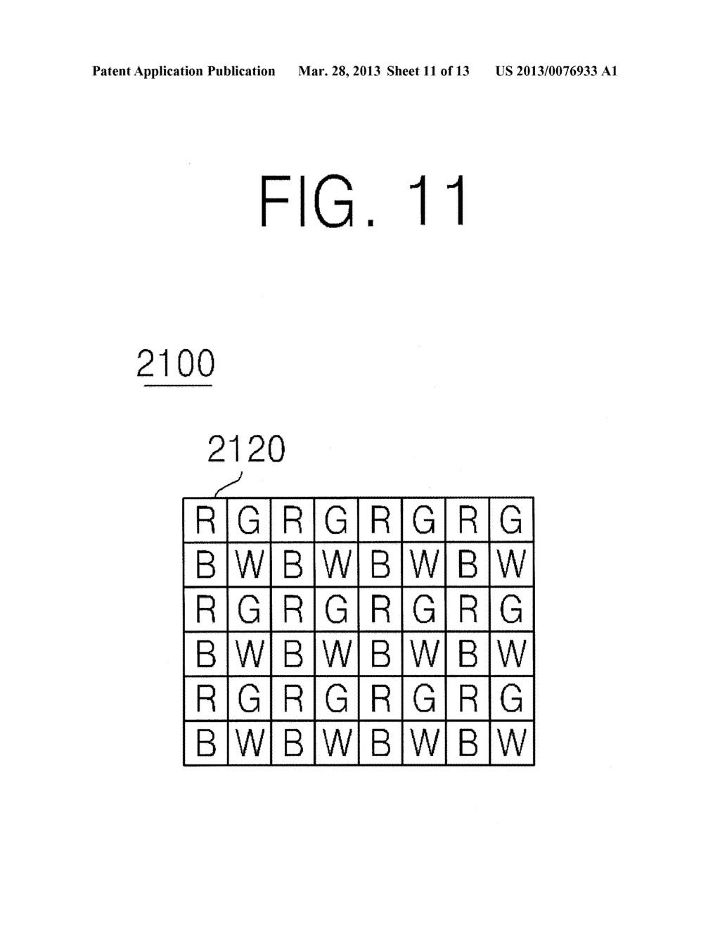 BACKSIDE ILLUMINATION IMAGE SENSOR, OPERATING METHOD THEREOF, IMAGE     PROCESSING SYSTEM AND METHOD OF PROCESSING IMAGE USING THE SAME - diagram, schematic, and image 12