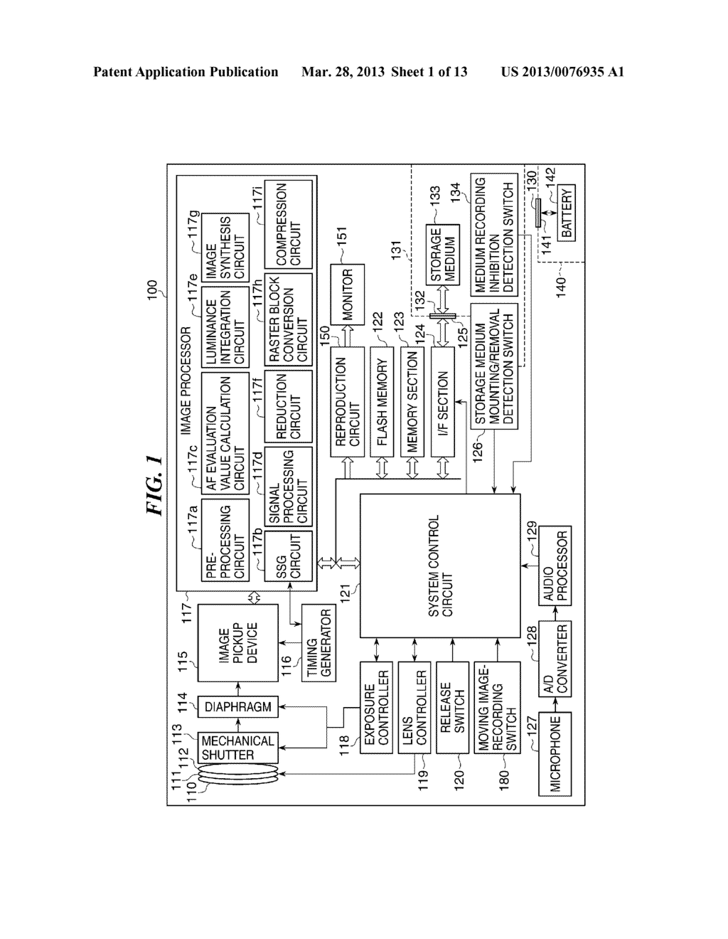 IMAGE RECORDING DEVICE THAT RECORDS MOVING IMAGE, METHOD OF CONTROLLING     THE SAME, AND STORAGE MEDIUM - diagram, schematic, and image 02
