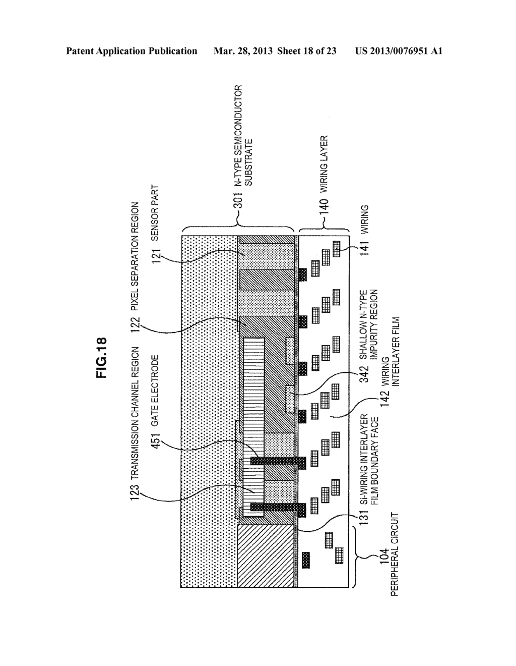 IMAGING ELEMENT, IMAGE PICKUP APPARATUS, MANUFACTURING APPARATUS AND     MANUFACTURING METHOD - diagram, schematic, and image 19