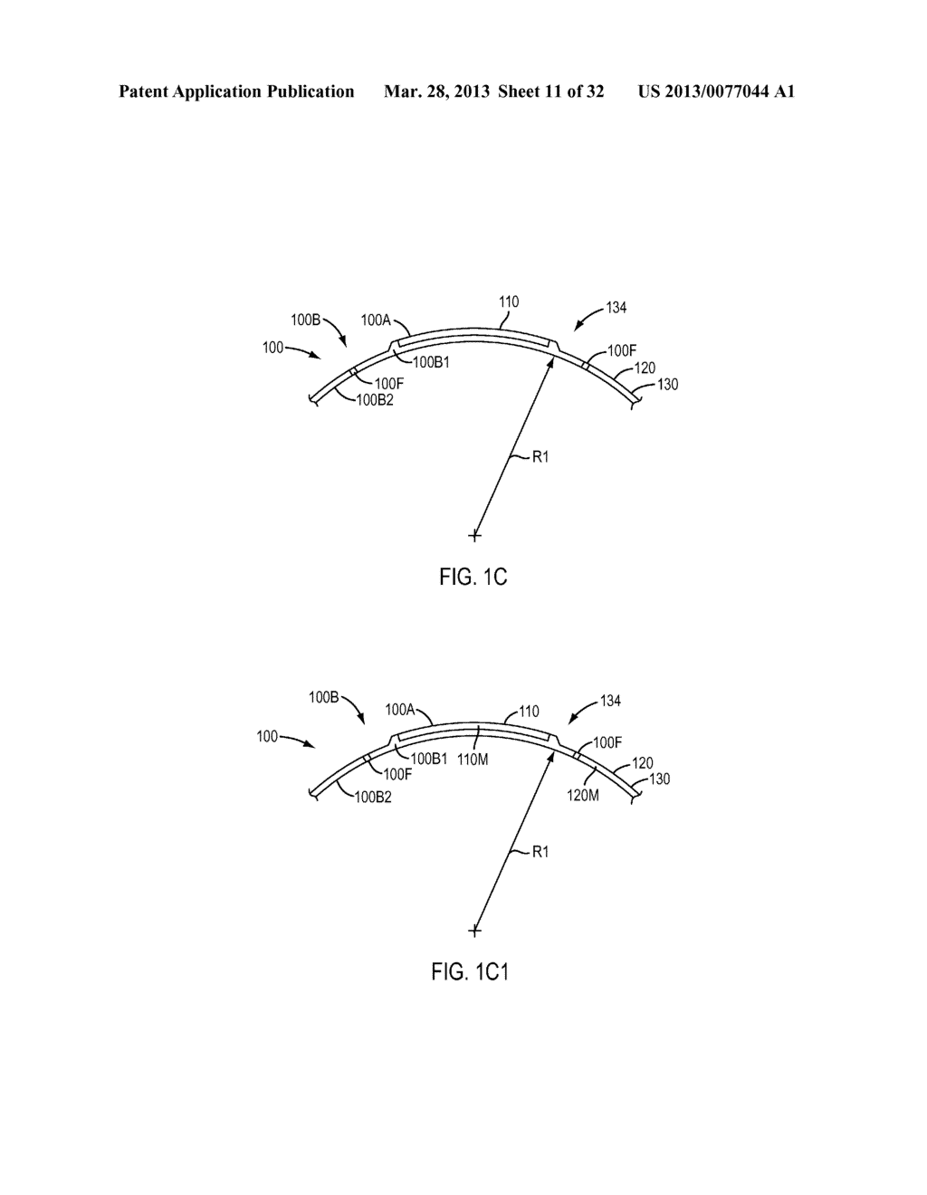 Eye Covering and Refractive Correction Methods and Apparatus Having     Improved Tear Flow, Comfort, and/or Applicability - diagram, schematic, and image 12