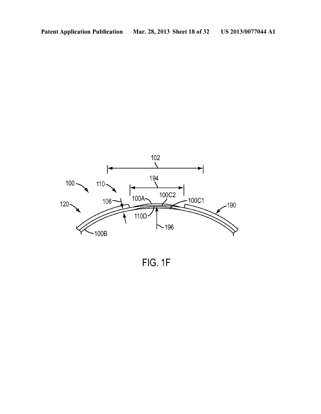 Eye Covering and Refractive Correction Methods and Apparatus Having     Improved Tear Flow, Comfort, and/or Applicability - diagram, schematic, and image 19