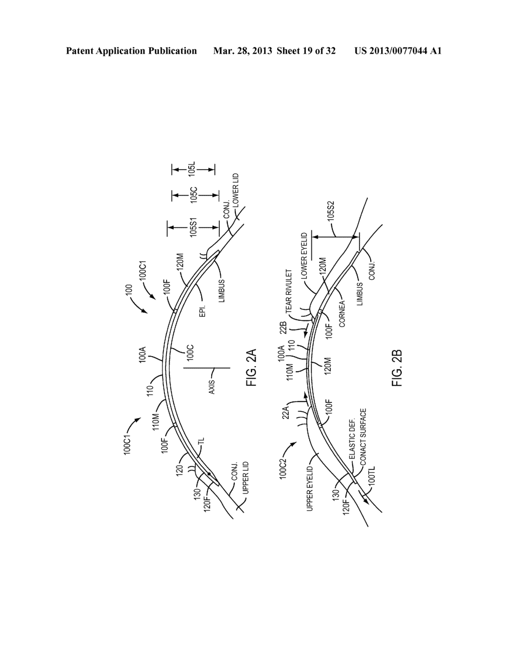 Eye Covering and Refractive Correction Methods and Apparatus Having     Improved Tear Flow, Comfort, and/or Applicability - diagram, schematic, and image 20