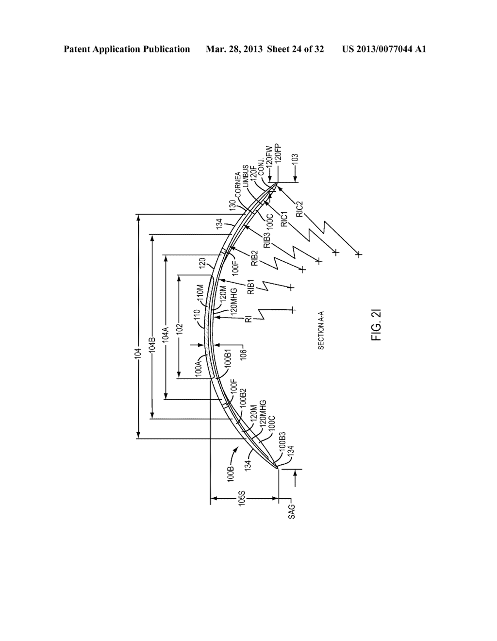 Eye Covering and Refractive Correction Methods and Apparatus Having     Improved Tear Flow, Comfort, and/or Applicability - diagram, schematic, and image 25