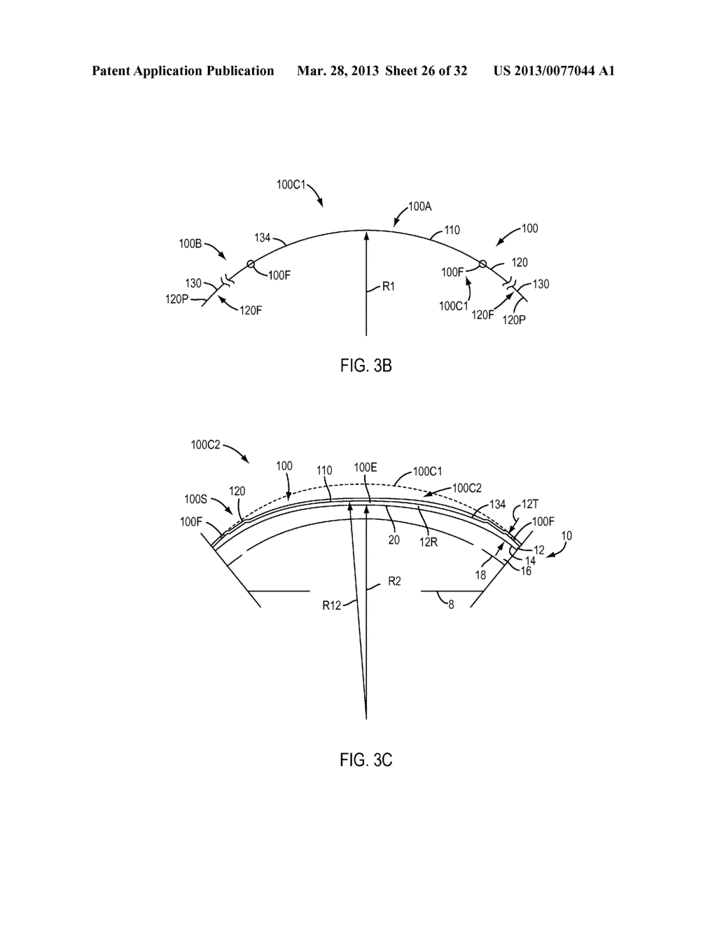 Eye Covering and Refractive Correction Methods and Apparatus Having     Improved Tear Flow, Comfort, and/or Applicability - diagram, schematic, and image 27