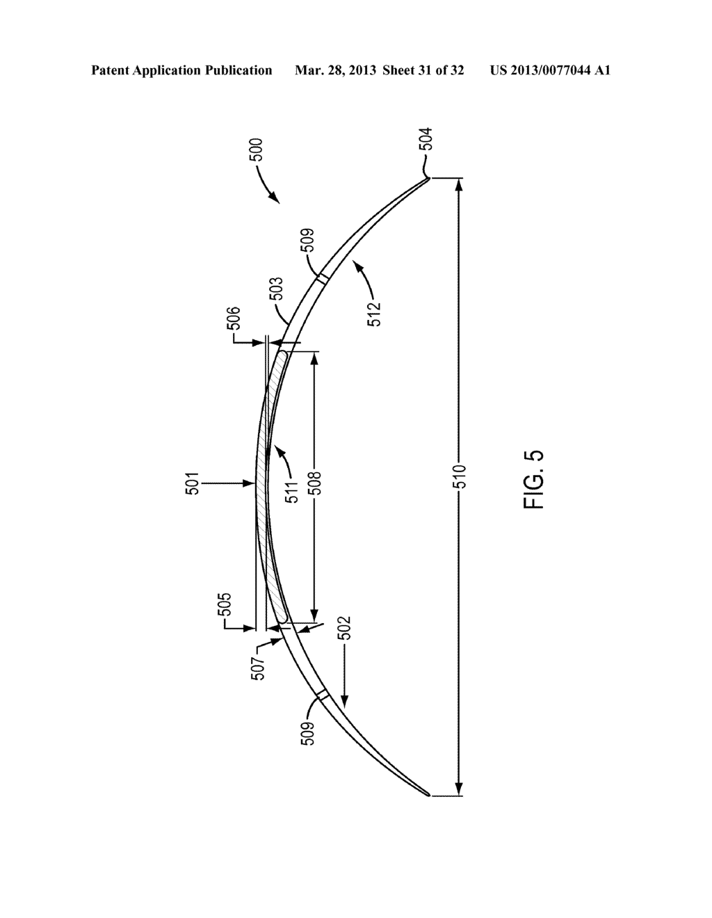 Eye Covering and Refractive Correction Methods and Apparatus Having     Improved Tear Flow, Comfort, and/or Applicability - diagram, schematic, and image 32