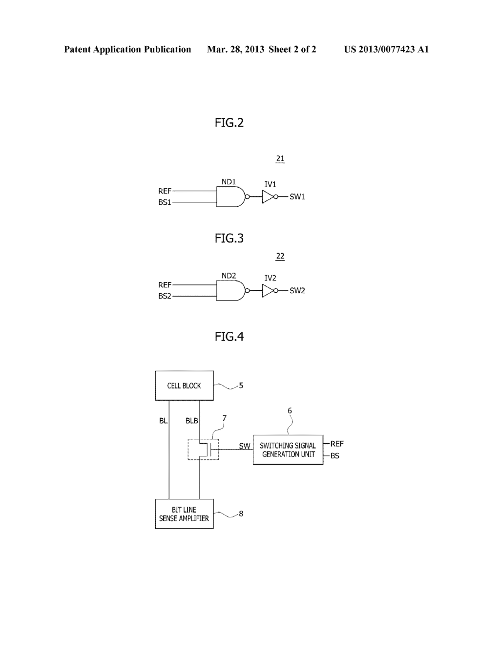 REFRESH METHOD AND APPARATUS FOR A SEMICONDUCTOR MEMORY DEVICE - diagram, schematic, and image 03