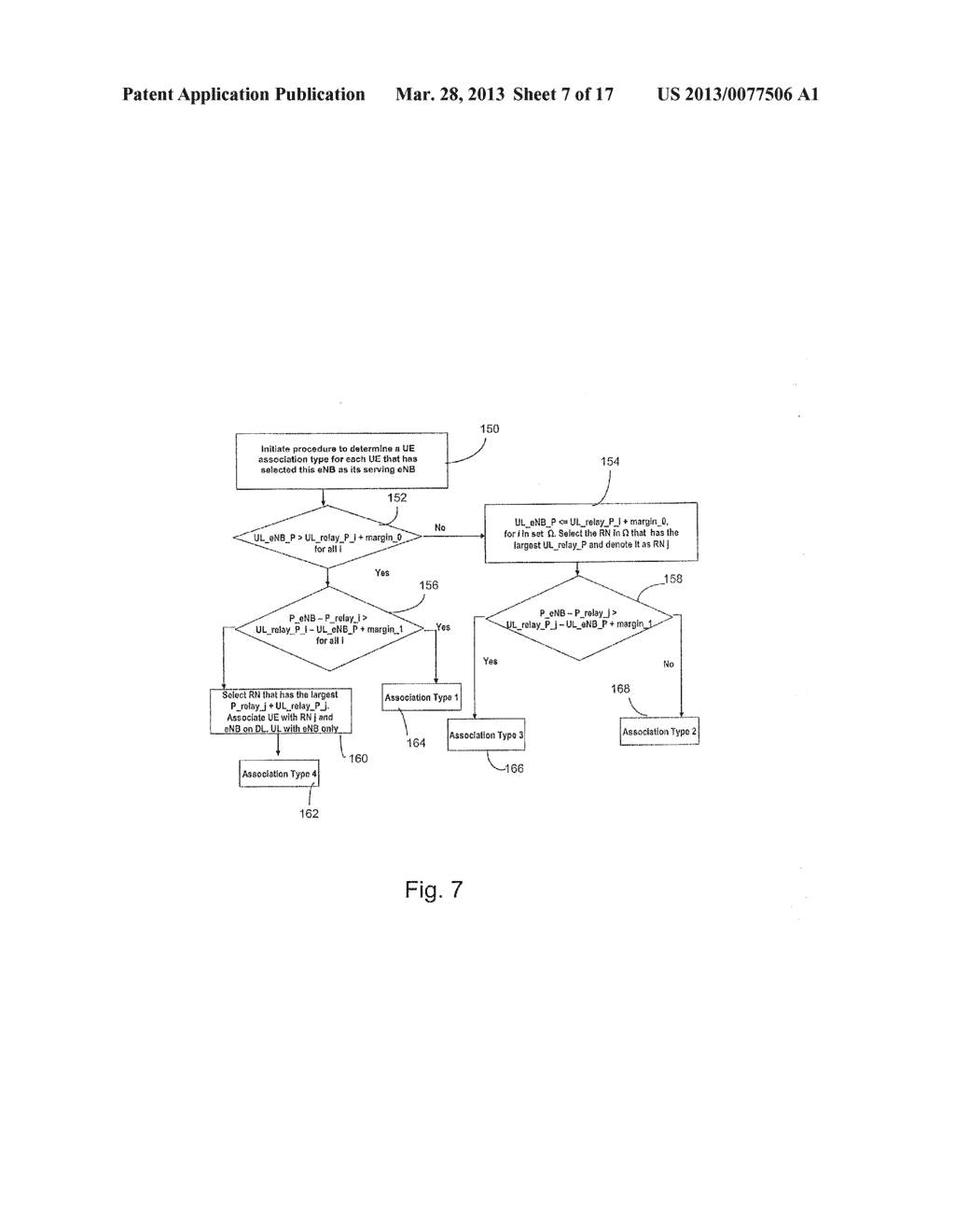 System and Method for Association and Uplink Adaptation in a Relay Network - diagram, schematic, and image 08