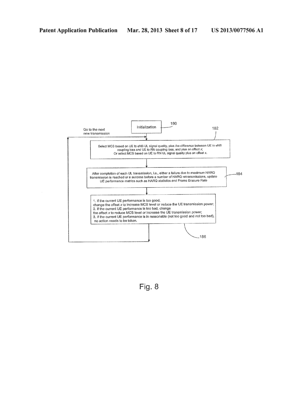 System and Method for Association and Uplink Adaptation in a Relay Network - diagram, schematic, and image 09