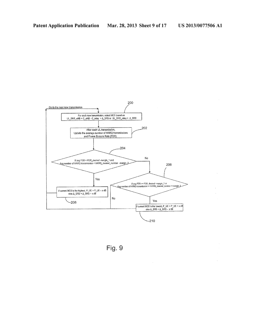 System and Method for Association and Uplink Adaptation in a Relay Network - diagram, schematic, and image 10