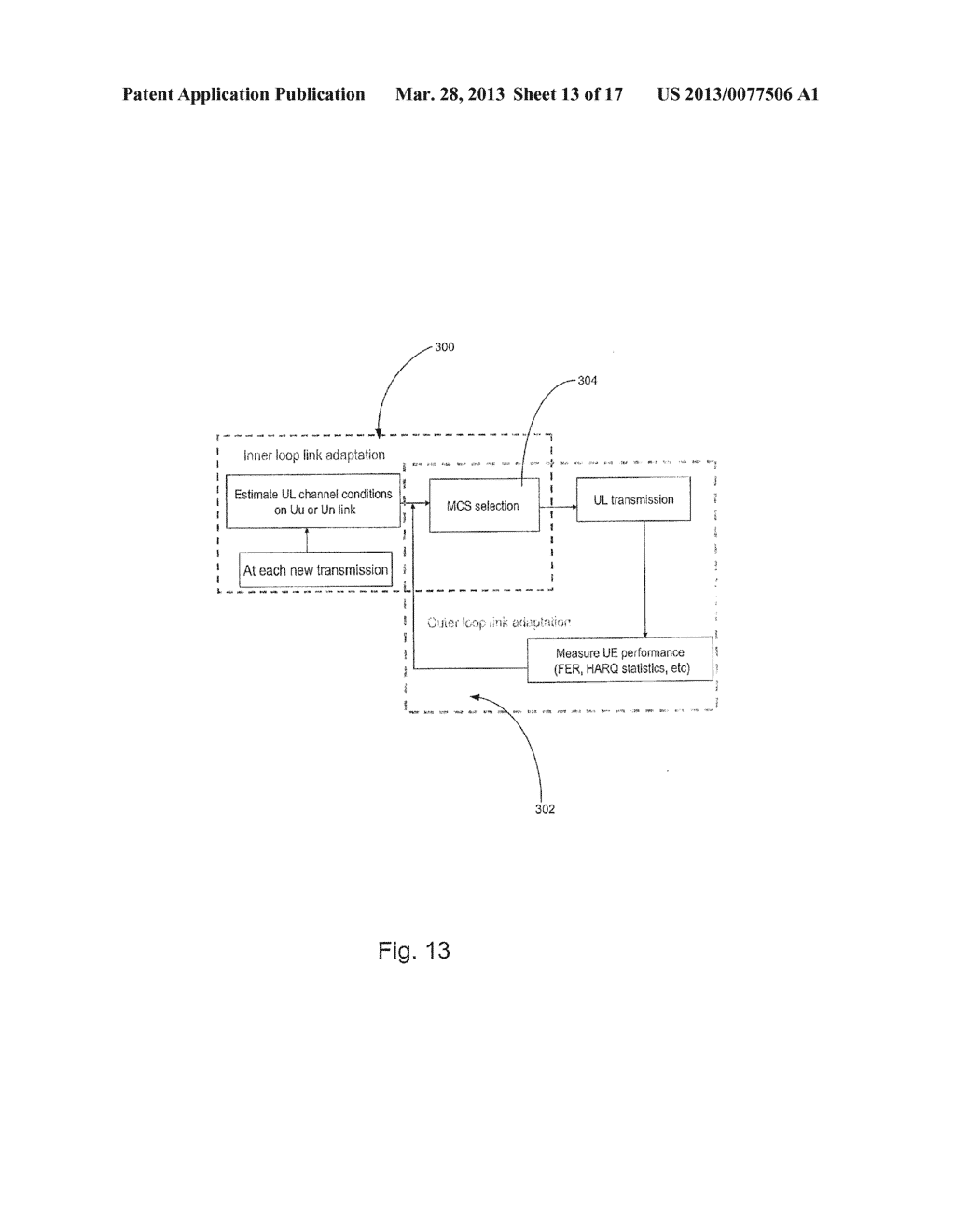 System and Method for Association and Uplink Adaptation in a Relay Network - diagram, schematic, and image 14