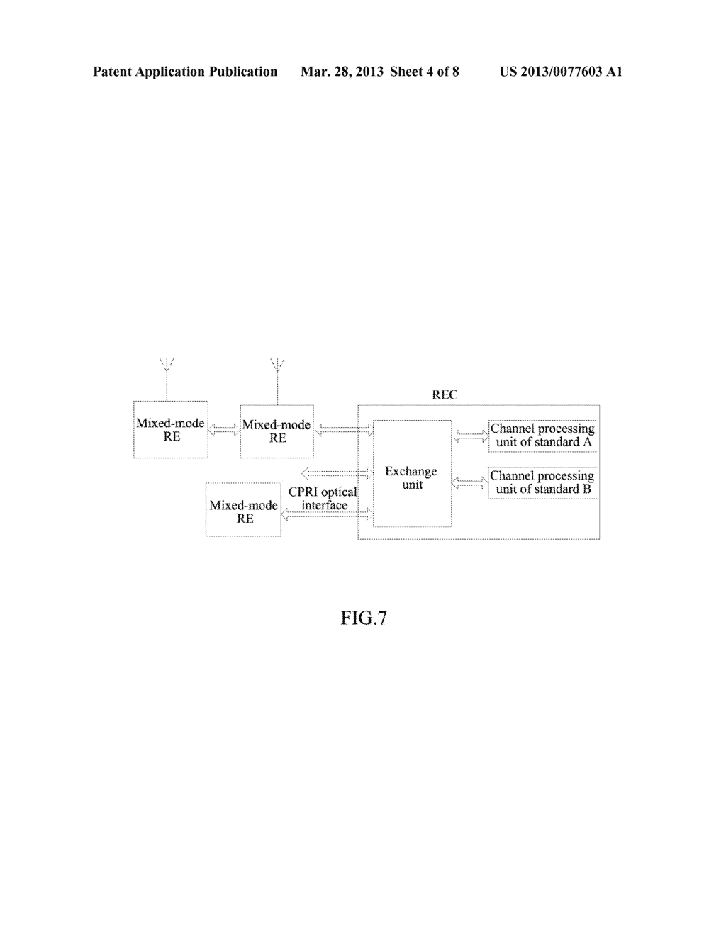 Method and Apparatus For Mapping Multi-Standard IQ Data Based on CPRI - diagram, schematic, and image 05