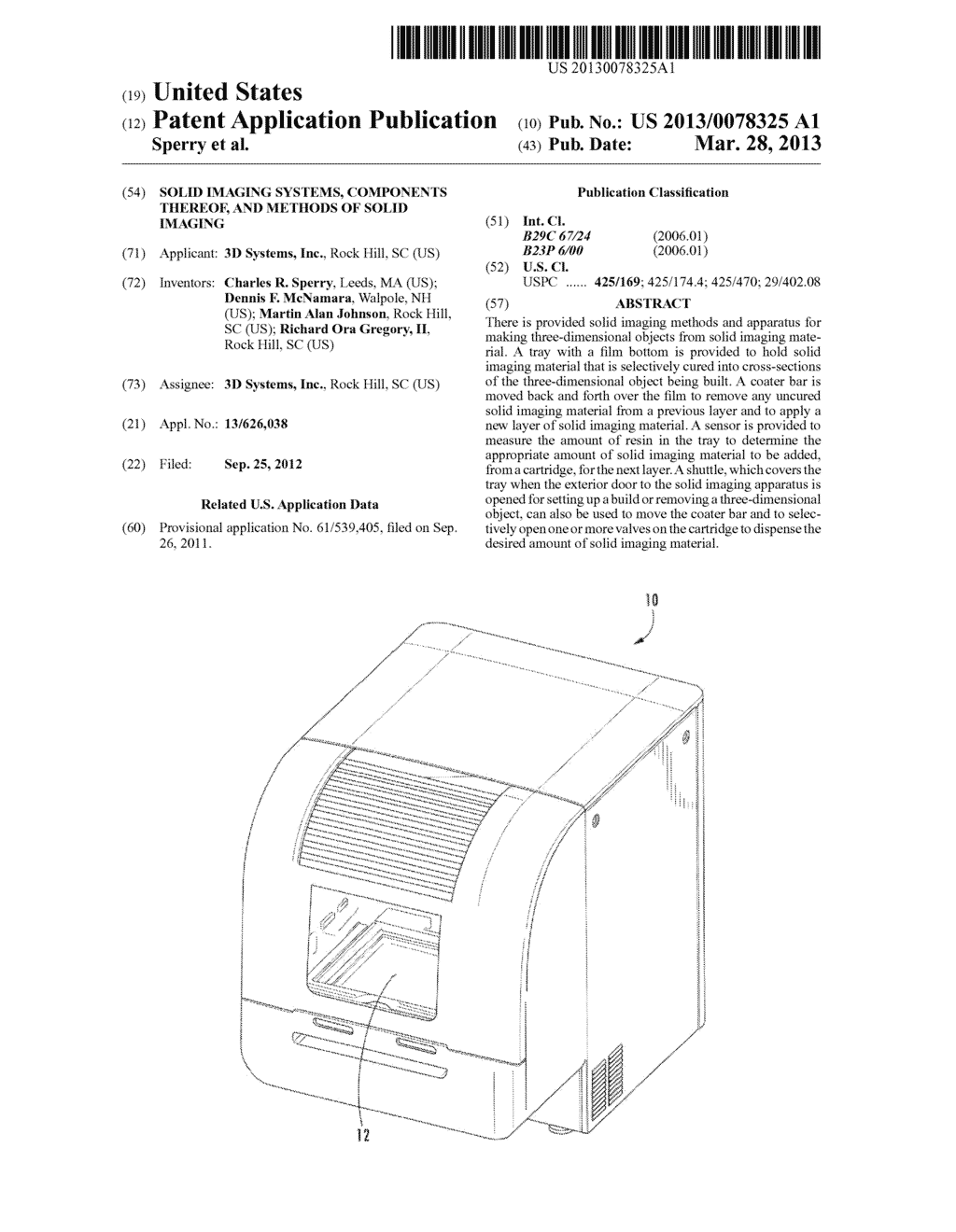 Solid Imaging Systems, Components Thereof, and Methods of Solid Imaging - diagram, schematic, and image 01