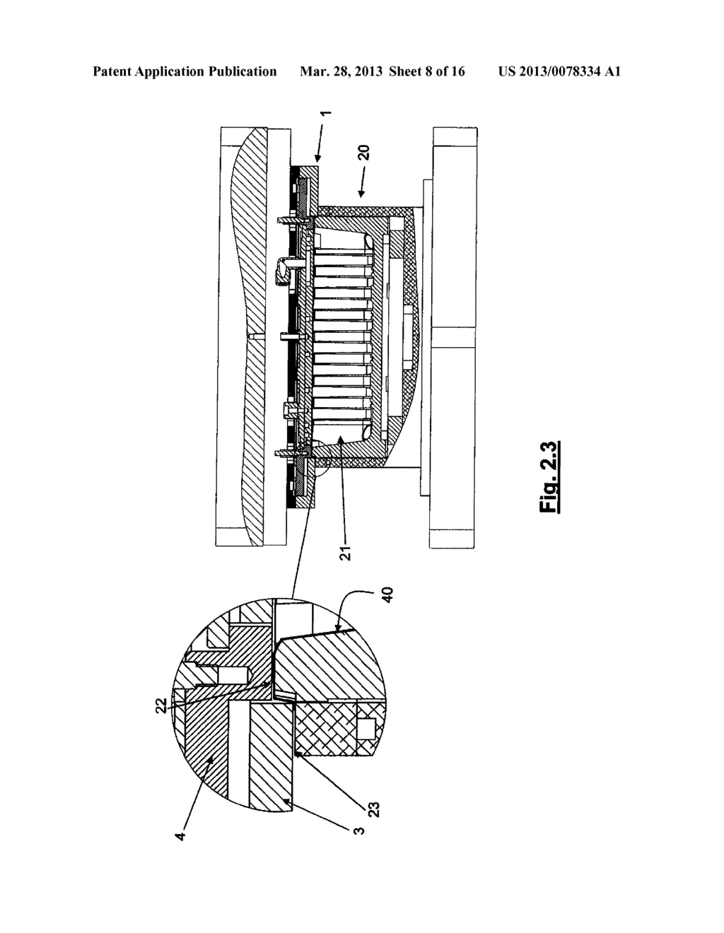 PLATE AND APPARATUS FOR FORMING A PLASTIC MATERIAL FLANGED HOLLOW ARTICLE - diagram, schematic, and image 09
