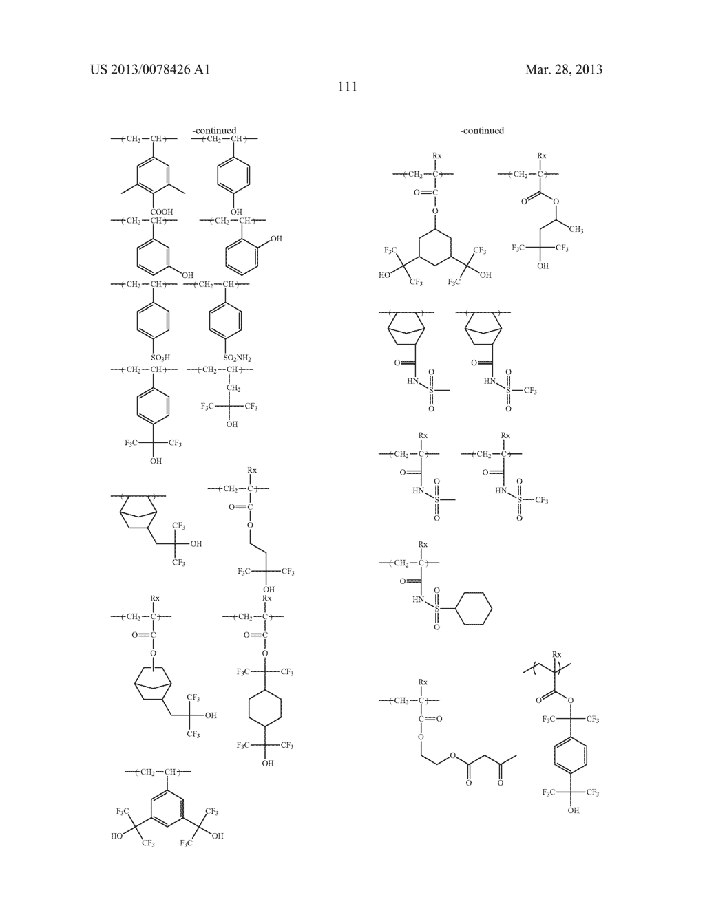 ACTINIC RAY-SENSITIVE OR RADIATION-SENSITIVE RESIN COMPOSITION, AND RESIST     FILM, PATTERN FORMING METHOD, METHOD FOR PREPARING ELECTRONIC DEVICE, AND     ELECTRONIC DEVICE, EACH USING THE SAME - diagram, schematic, and image 112