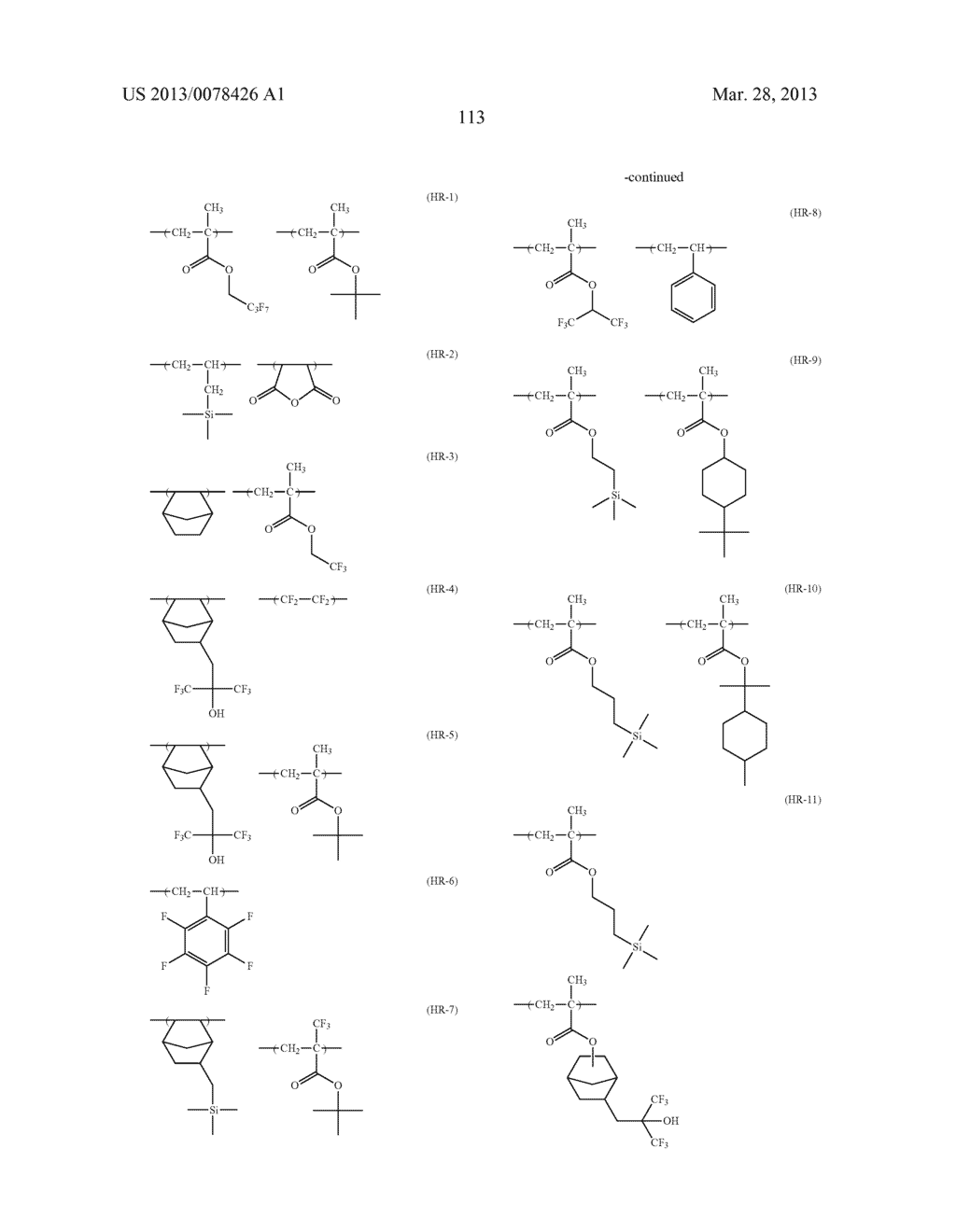ACTINIC RAY-SENSITIVE OR RADIATION-SENSITIVE RESIN COMPOSITION, AND RESIST     FILM, PATTERN FORMING METHOD, METHOD FOR PREPARING ELECTRONIC DEVICE, AND     ELECTRONIC DEVICE, EACH USING THE SAME - diagram, schematic, and image 114
