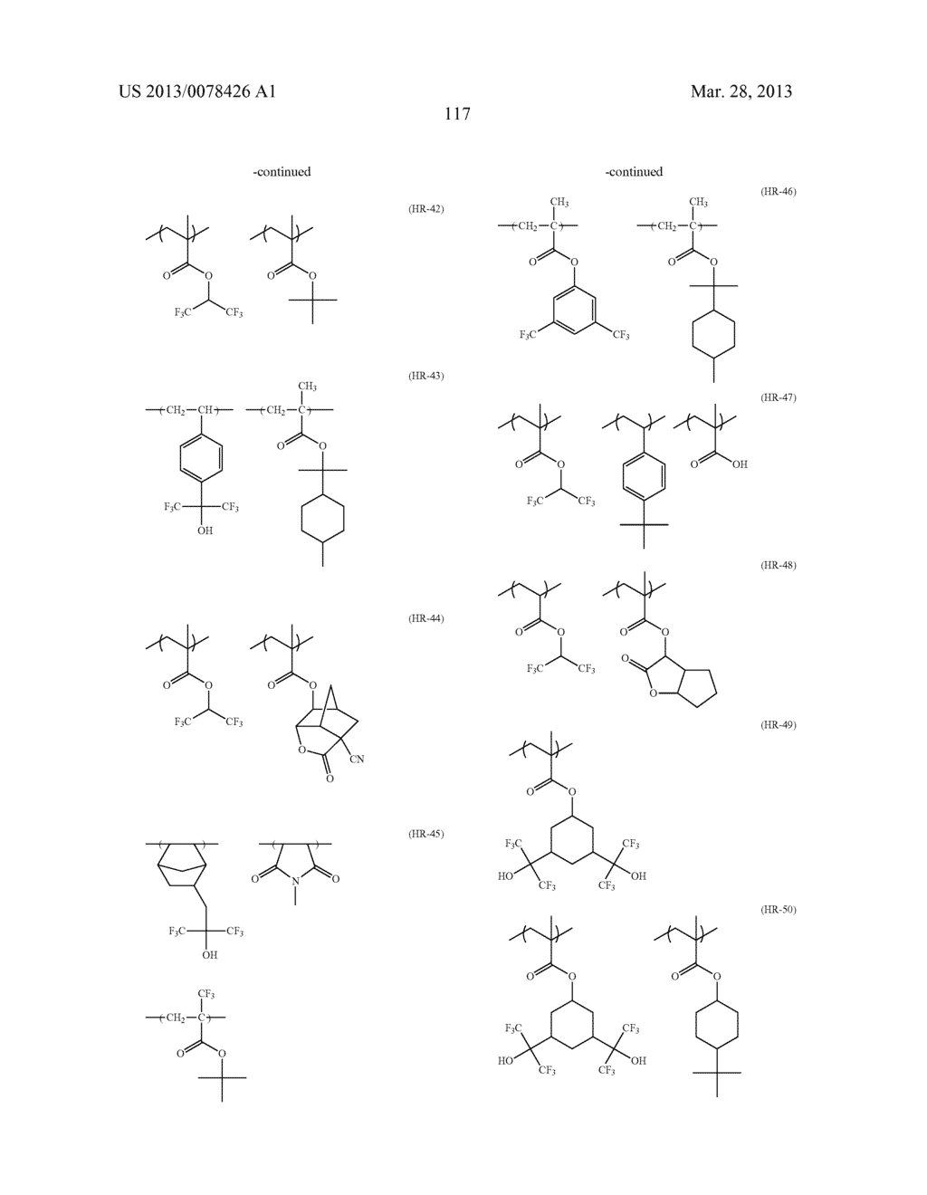 ACTINIC RAY-SENSITIVE OR RADIATION-SENSITIVE RESIN COMPOSITION, AND RESIST     FILM, PATTERN FORMING METHOD, METHOD FOR PREPARING ELECTRONIC DEVICE, AND     ELECTRONIC DEVICE, EACH USING THE SAME - diagram, schematic, and image 118