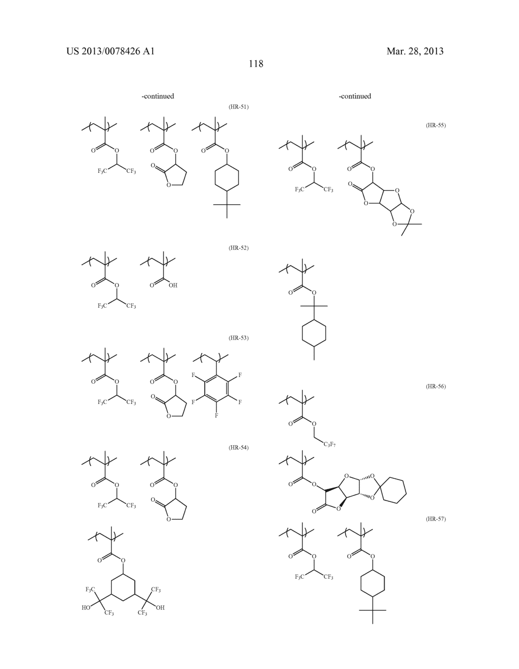 ACTINIC RAY-SENSITIVE OR RADIATION-SENSITIVE RESIN COMPOSITION, AND RESIST     FILM, PATTERN FORMING METHOD, METHOD FOR PREPARING ELECTRONIC DEVICE, AND     ELECTRONIC DEVICE, EACH USING THE SAME - diagram, schematic, and image 119