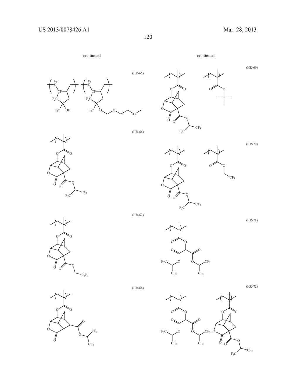 ACTINIC RAY-SENSITIVE OR RADIATION-SENSITIVE RESIN COMPOSITION, AND RESIST     FILM, PATTERN FORMING METHOD, METHOD FOR PREPARING ELECTRONIC DEVICE, AND     ELECTRONIC DEVICE, EACH USING THE SAME - diagram, schematic, and image 121