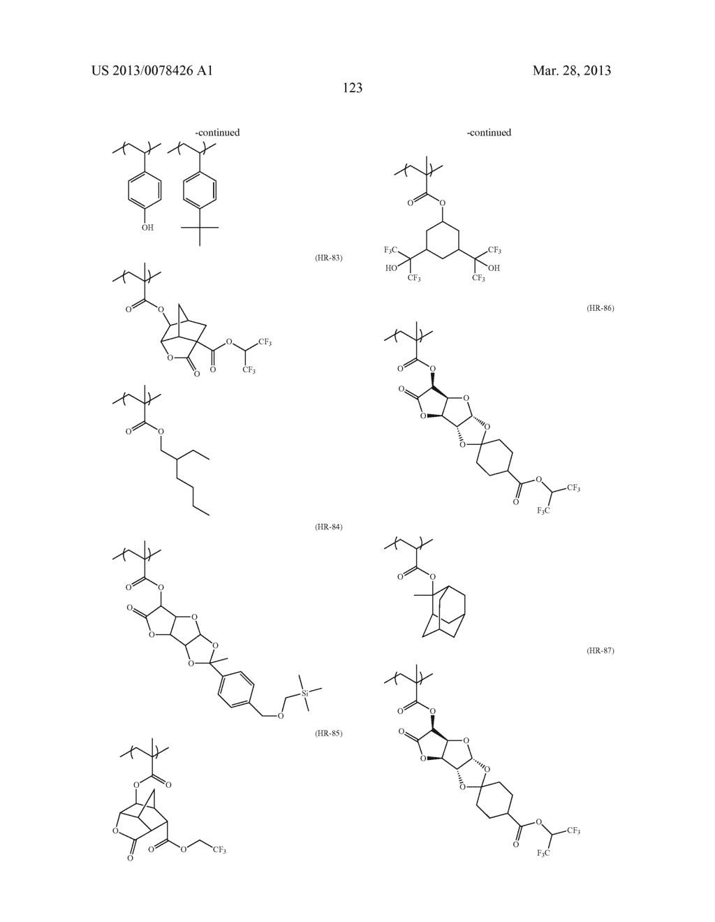ACTINIC RAY-SENSITIVE OR RADIATION-SENSITIVE RESIN COMPOSITION, AND RESIST     FILM, PATTERN FORMING METHOD, METHOD FOR PREPARING ELECTRONIC DEVICE, AND     ELECTRONIC DEVICE, EACH USING THE SAME - diagram, schematic, and image 124