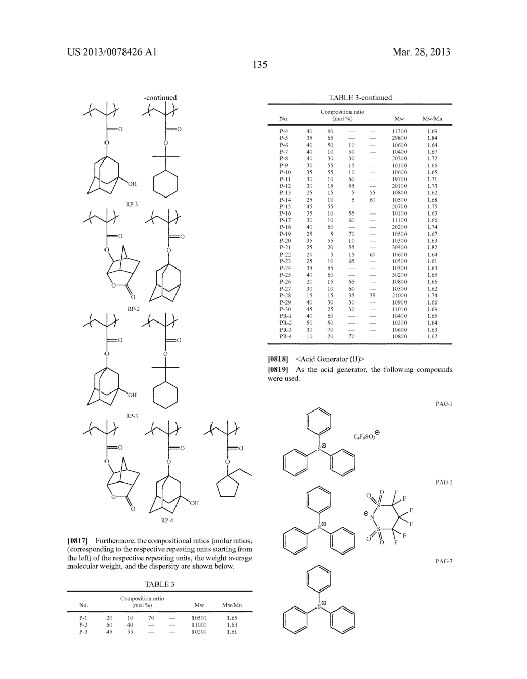 ACTINIC RAY-SENSITIVE OR RADIATION-SENSITIVE RESIN COMPOSITION, AND RESIST     FILM, PATTERN FORMING METHOD, METHOD FOR PREPARING ELECTRONIC DEVICE, AND     ELECTRONIC DEVICE, EACH USING THE SAME - diagram, schematic, and image 136