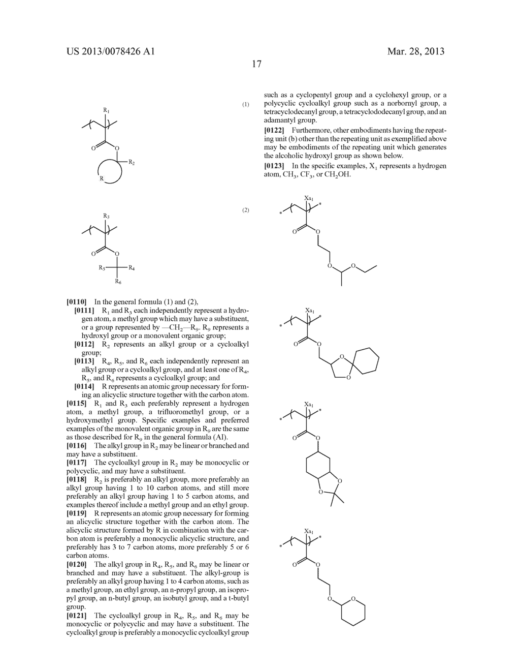 ACTINIC RAY-SENSITIVE OR RADIATION-SENSITIVE RESIN COMPOSITION, AND RESIST     FILM, PATTERN FORMING METHOD, METHOD FOR PREPARING ELECTRONIC DEVICE, AND     ELECTRONIC DEVICE, EACH USING THE SAME - diagram, schematic, and image 18