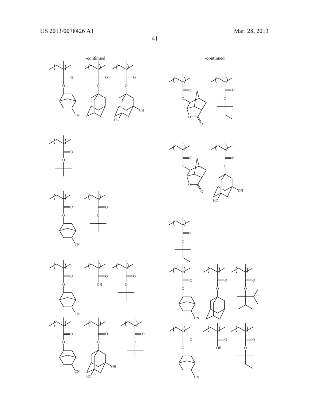 ACTINIC RAY-SENSITIVE OR RADIATION-SENSITIVE RESIN COMPOSITION, AND RESIST     FILM, PATTERN FORMING METHOD, METHOD FOR PREPARING ELECTRONIC DEVICE, AND     ELECTRONIC DEVICE, EACH USING THE SAME - diagram, schematic, and image 42