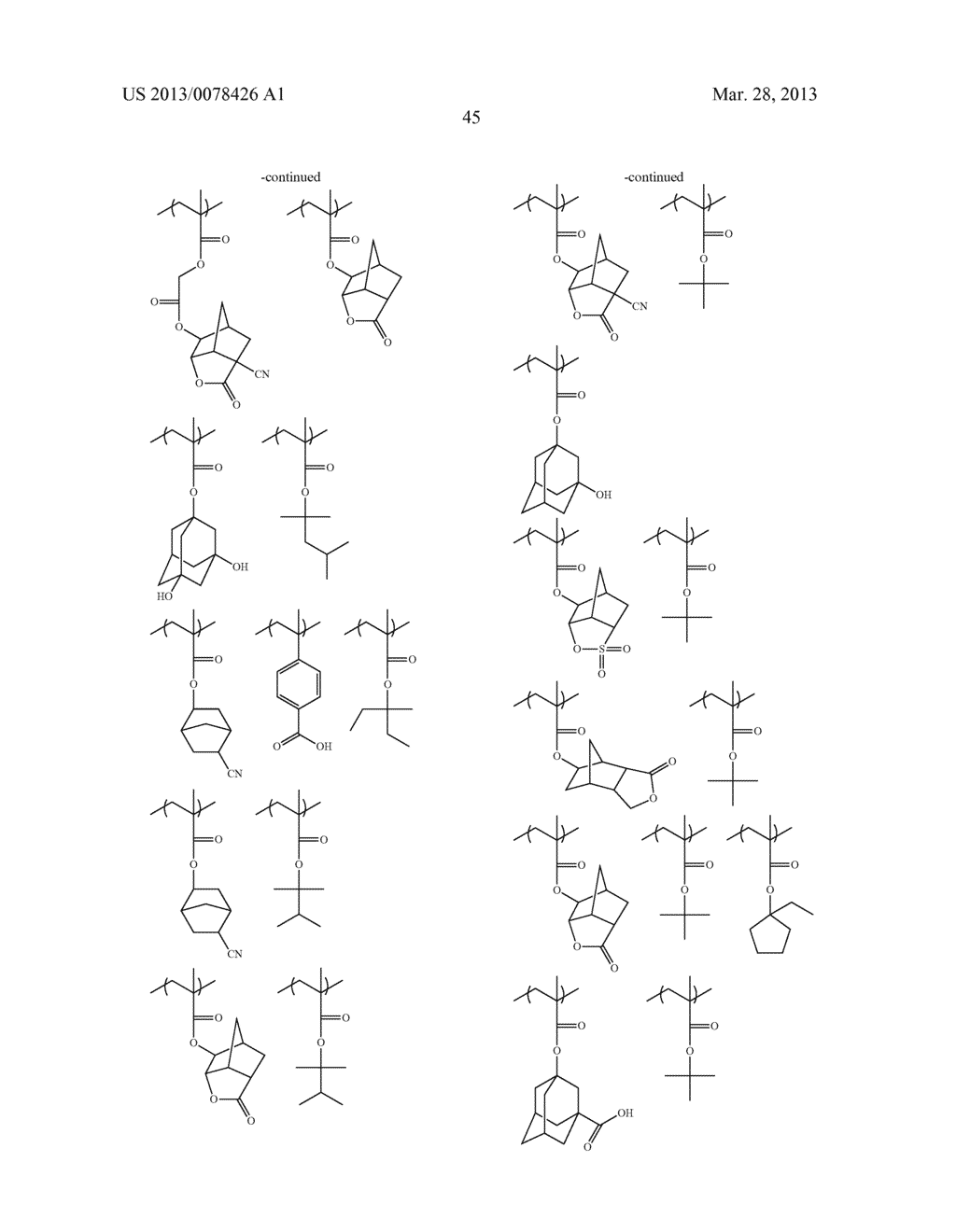 ACTINIC RAY-SENSITIVE OR RADIATION-SENSITIVE RESIN COMPOSITION, AND RESIST     FILM, PATTERN FORMING METHOD, METHOD FOR PREPARING ELECTRONIC DEVICE, AND     ELECTRONIC DEVICE, EACH USING THE SAME - diagram, schematic, and image 46