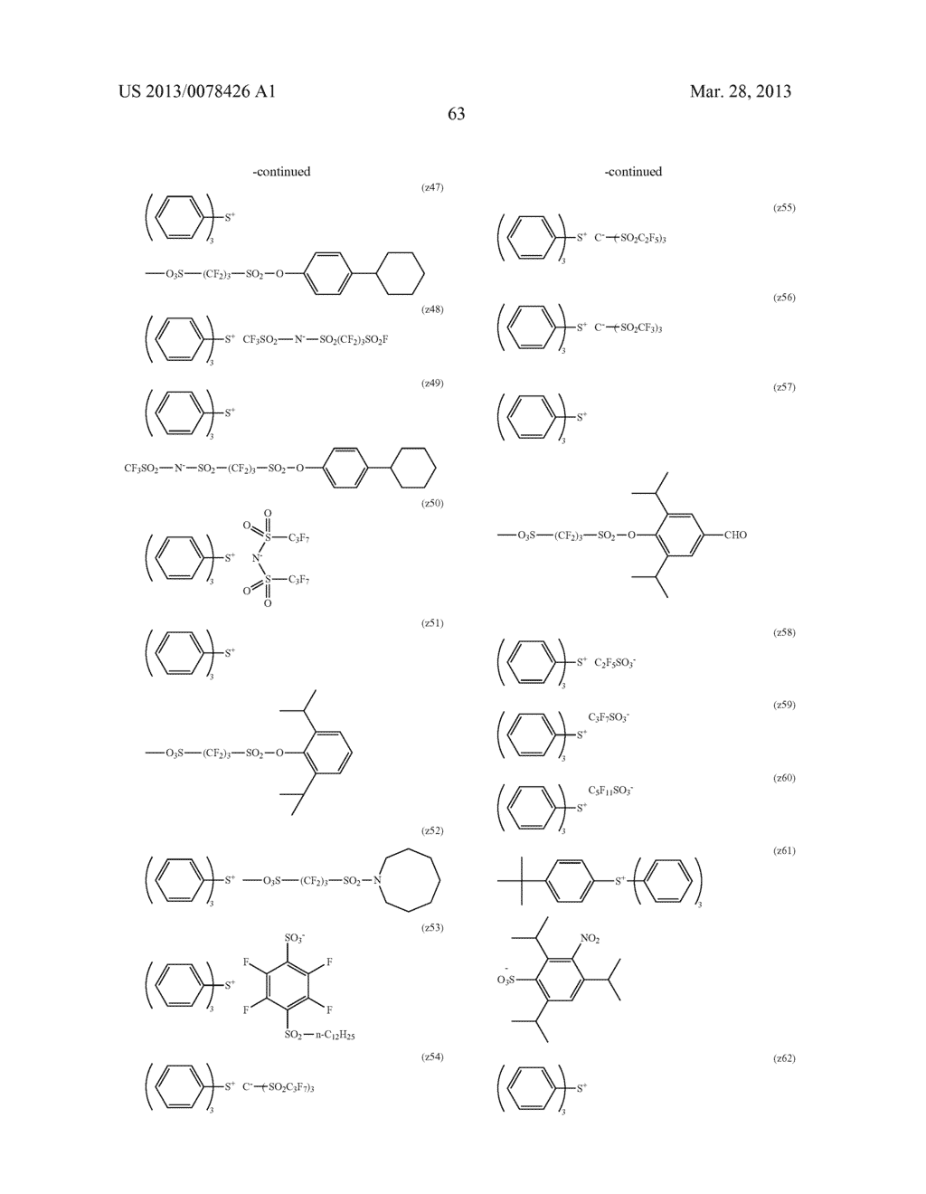 ACTINIC RAY-SENSITIVE OR RADIATION-SENSITIVE RESIN COMPOSITION, AND RESIST     FILM, PATTERN FORMING METHOD, METHOD FOR PREPARING ELECTRONIC DEVICE, AND     ELECTRONIC DEVICE, EACH USING THE SAME - diagram, schematic, and image 64
